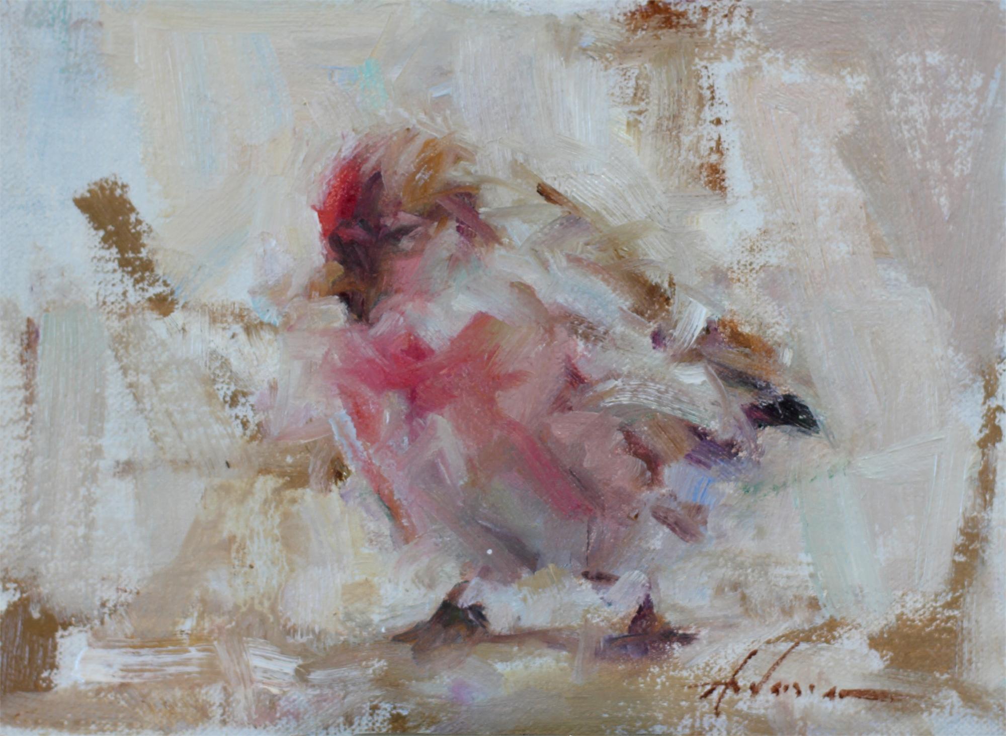 Winter Finch by Carolyn Anderson