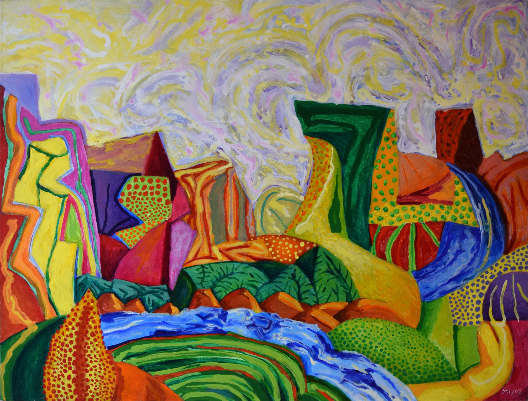 Canyon Passage by Earl Staley