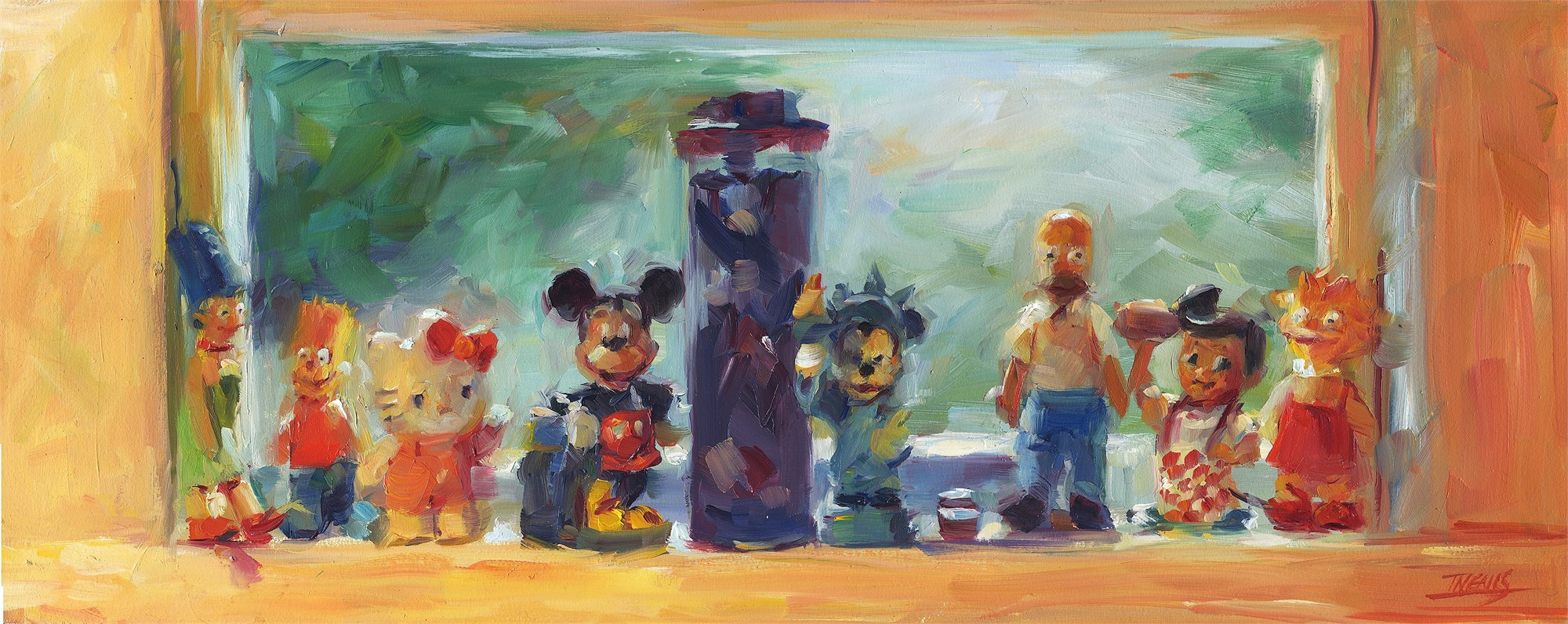Kitchen Characters by Pam Ingalls
