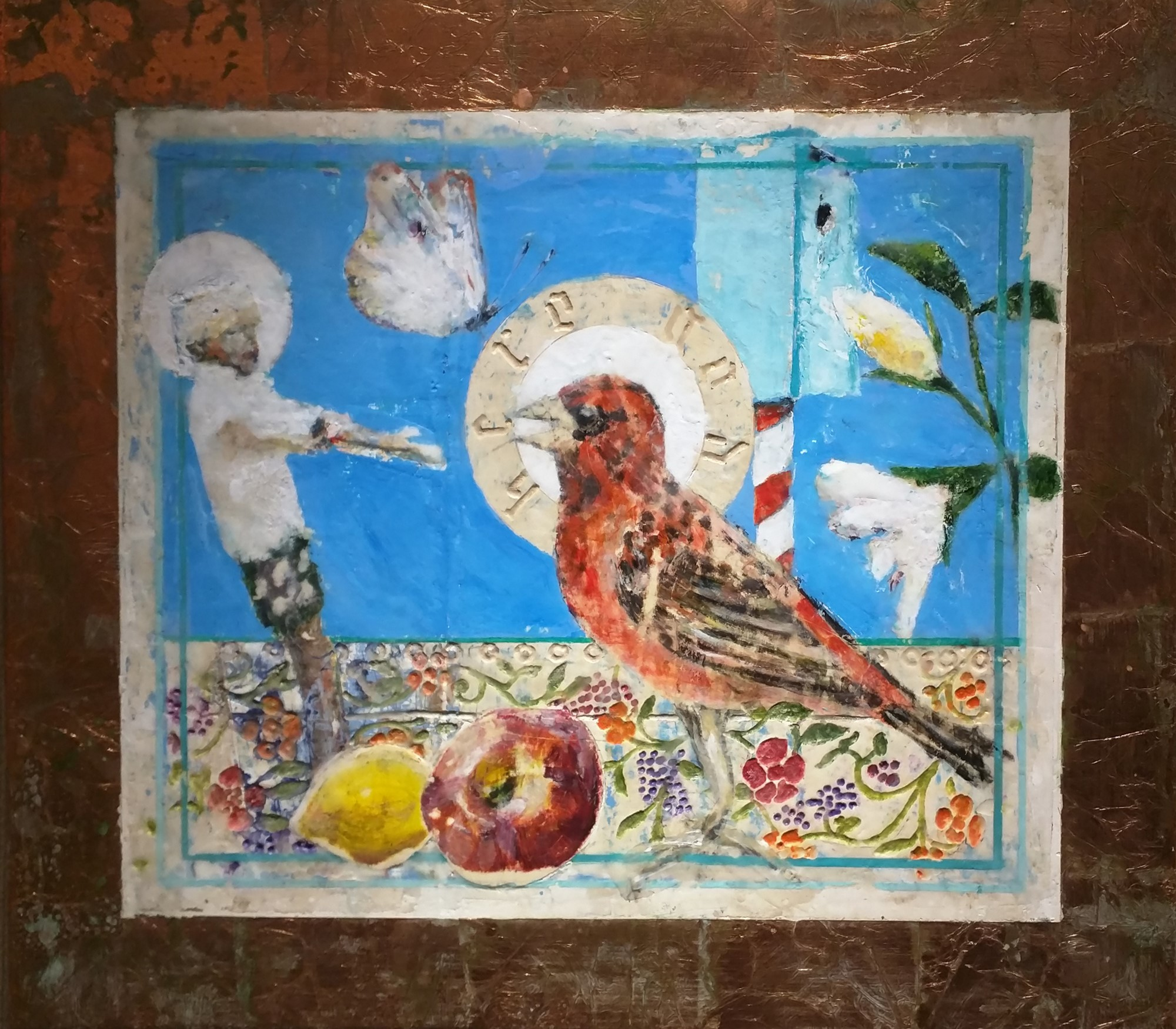 Still Life for Bird Temple #2 by Mark Gaskin