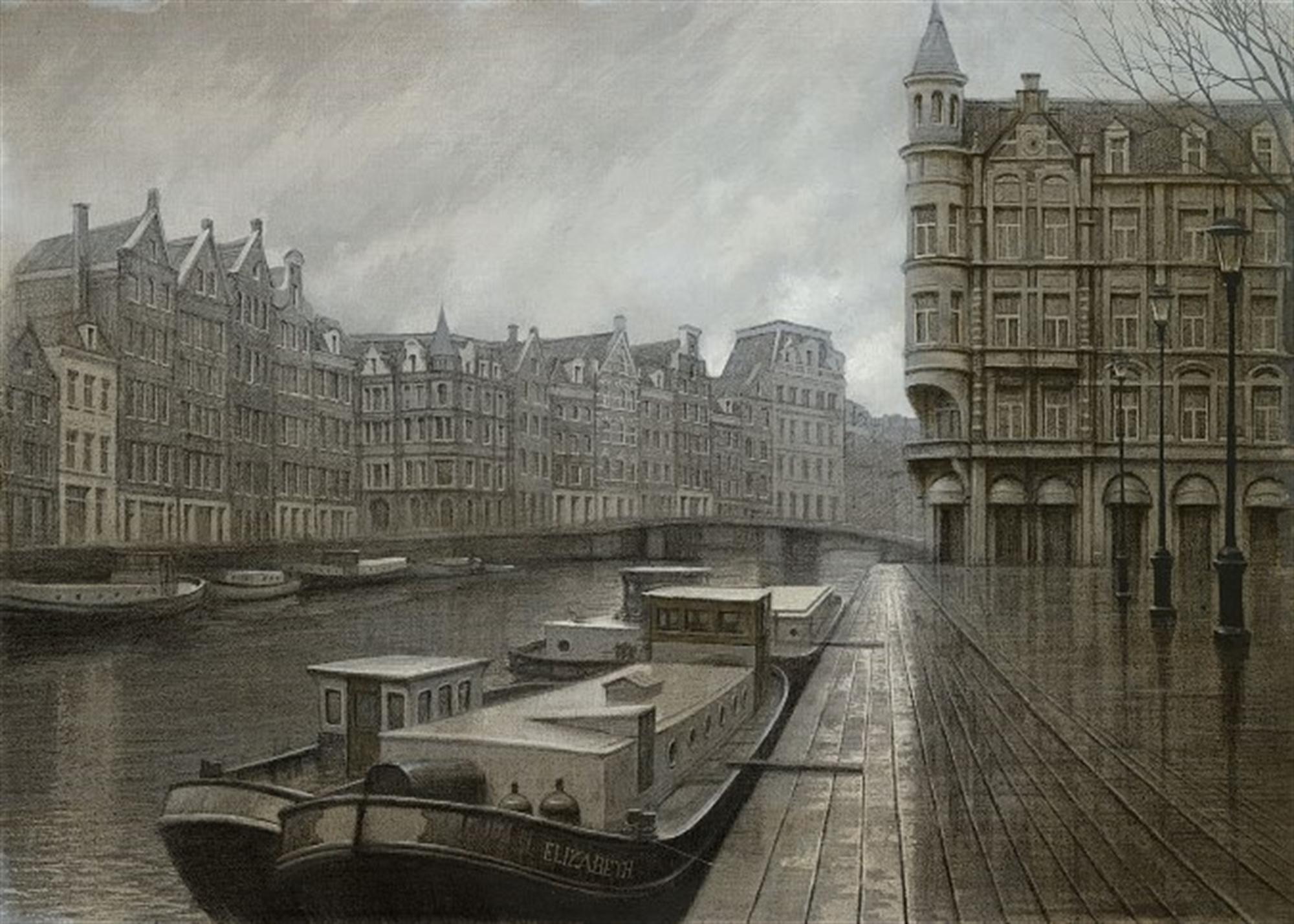 A Frosty Morning - Amsterdam by Alexei Butirskiy