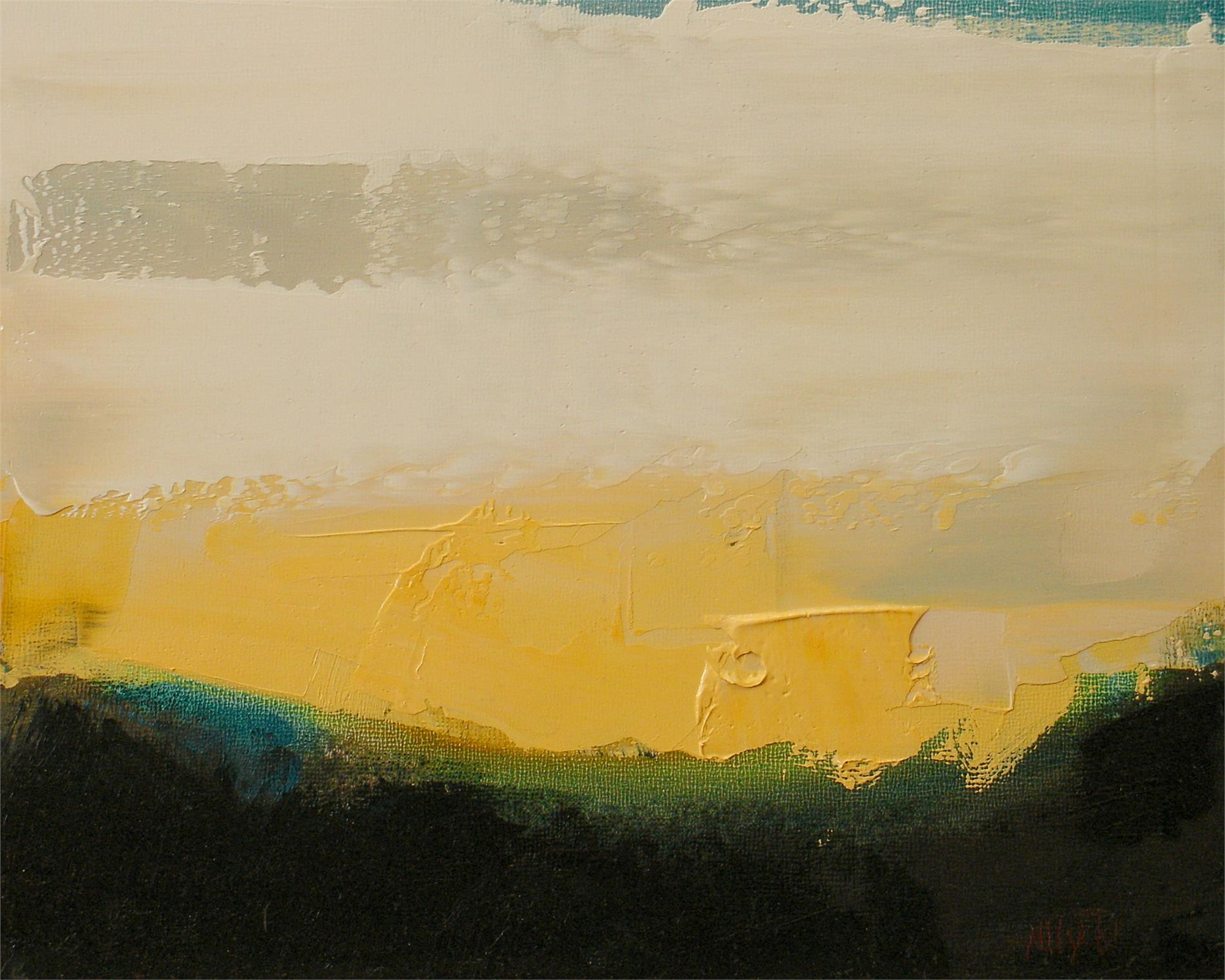 Yellow Dawn by Nicole Hyde