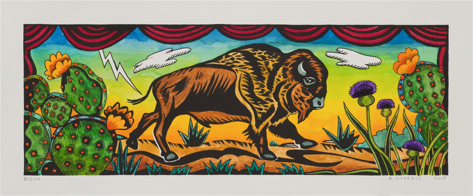 Bison by Billy Hassell