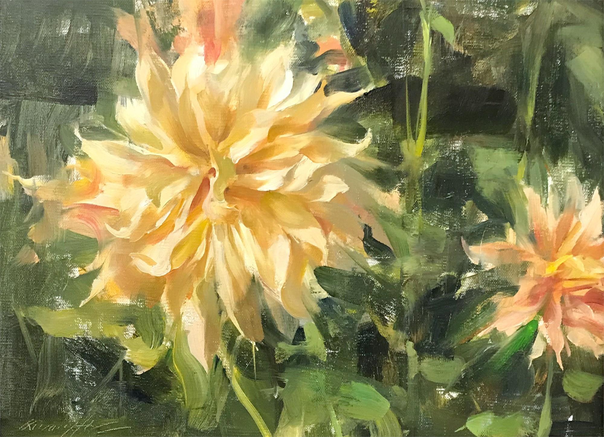 Dahlias by Quang Ho