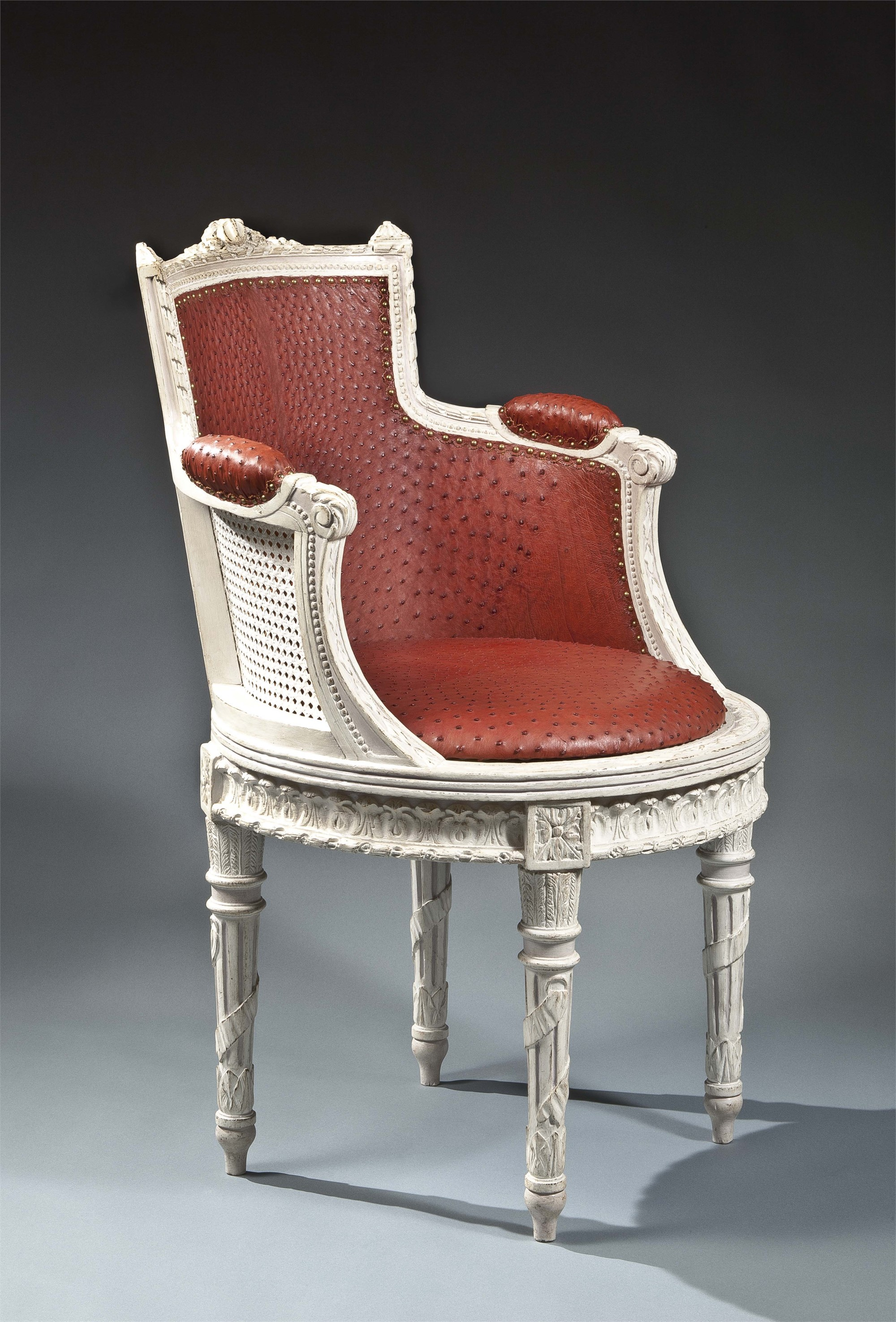 LOUIS XVI FAUTEUIL DE BUREAU (SWIVEL DESK CHAIR)