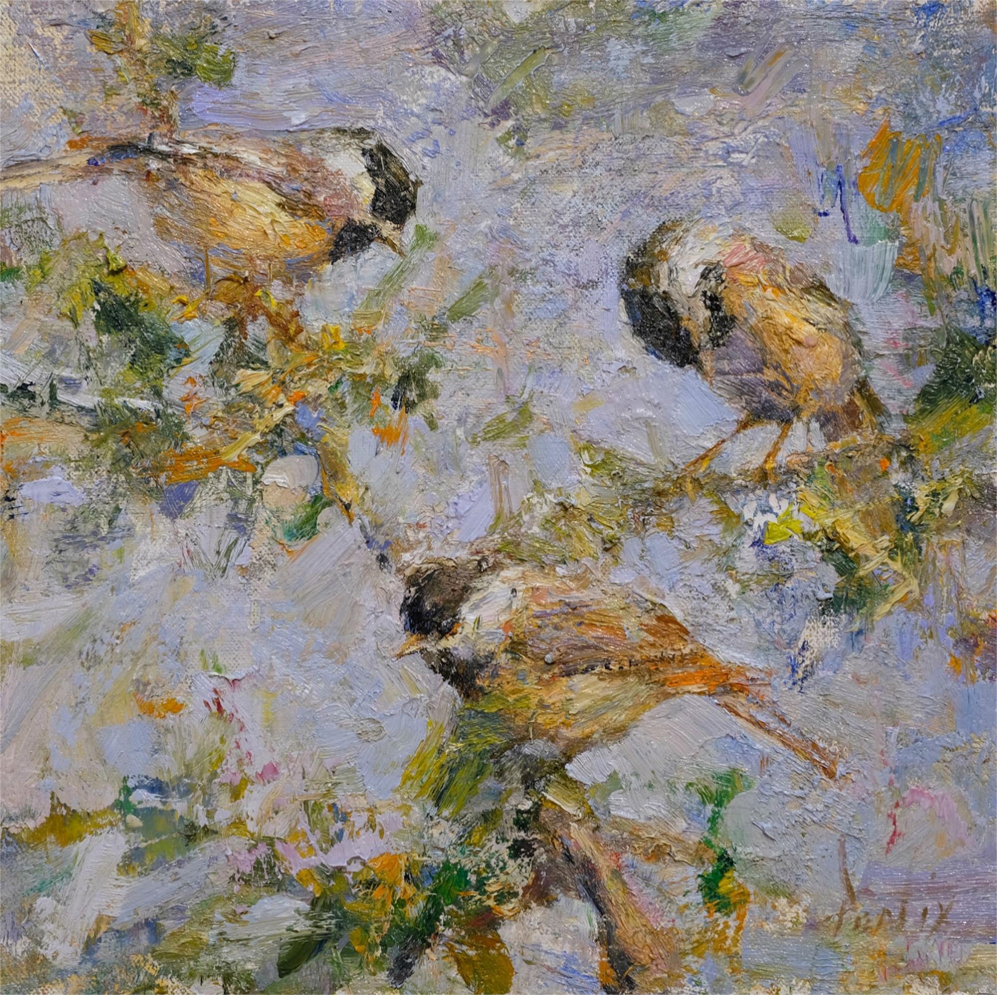 Chickadees by Derek Penix