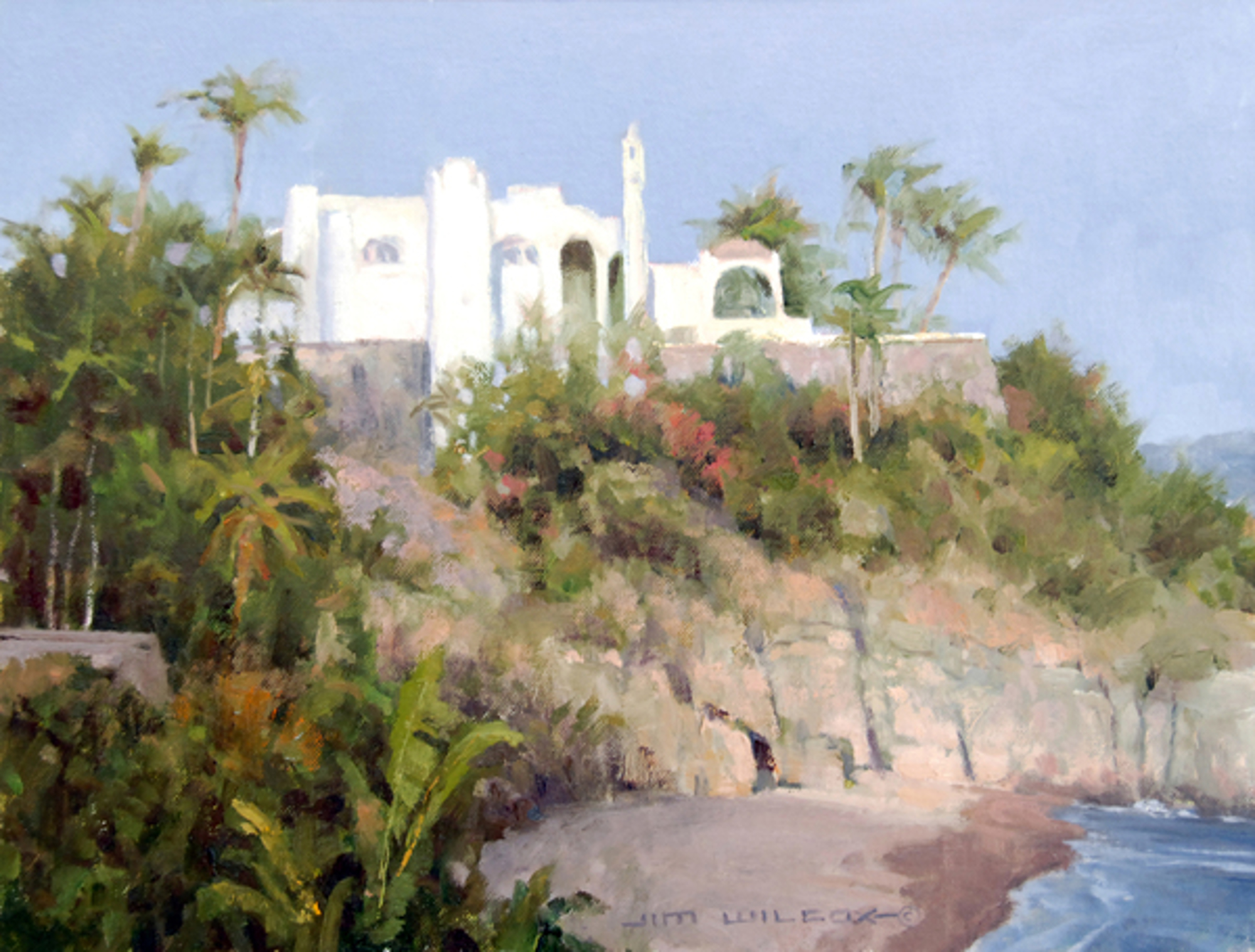 La Atalaya The Watchtower (Mexico house) by Jim Wilcox