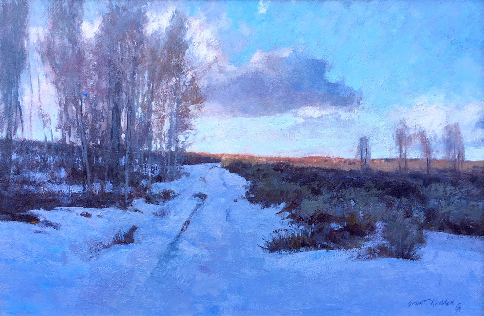 December Evening by Grant Redden