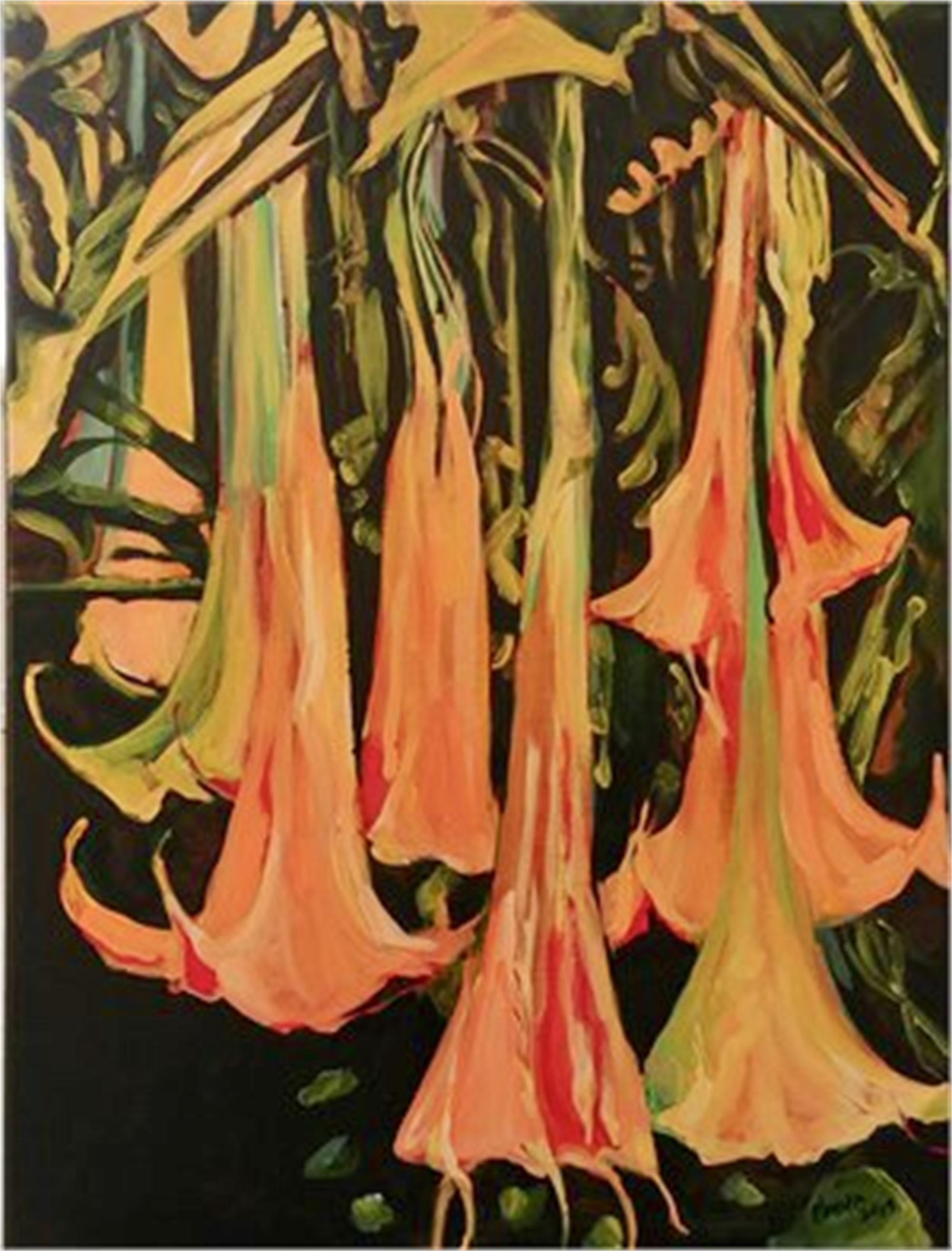 Angel Trumpets by Benita Cole (McMinnville, OR)
