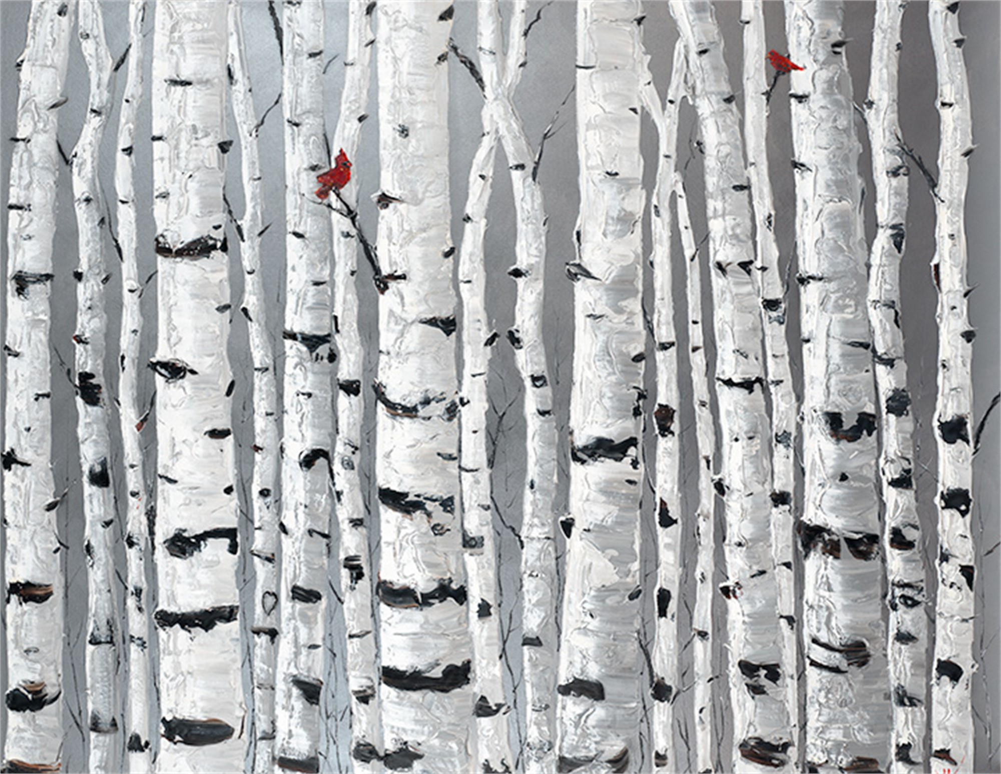 Lovebirds by Jennifer Vranes