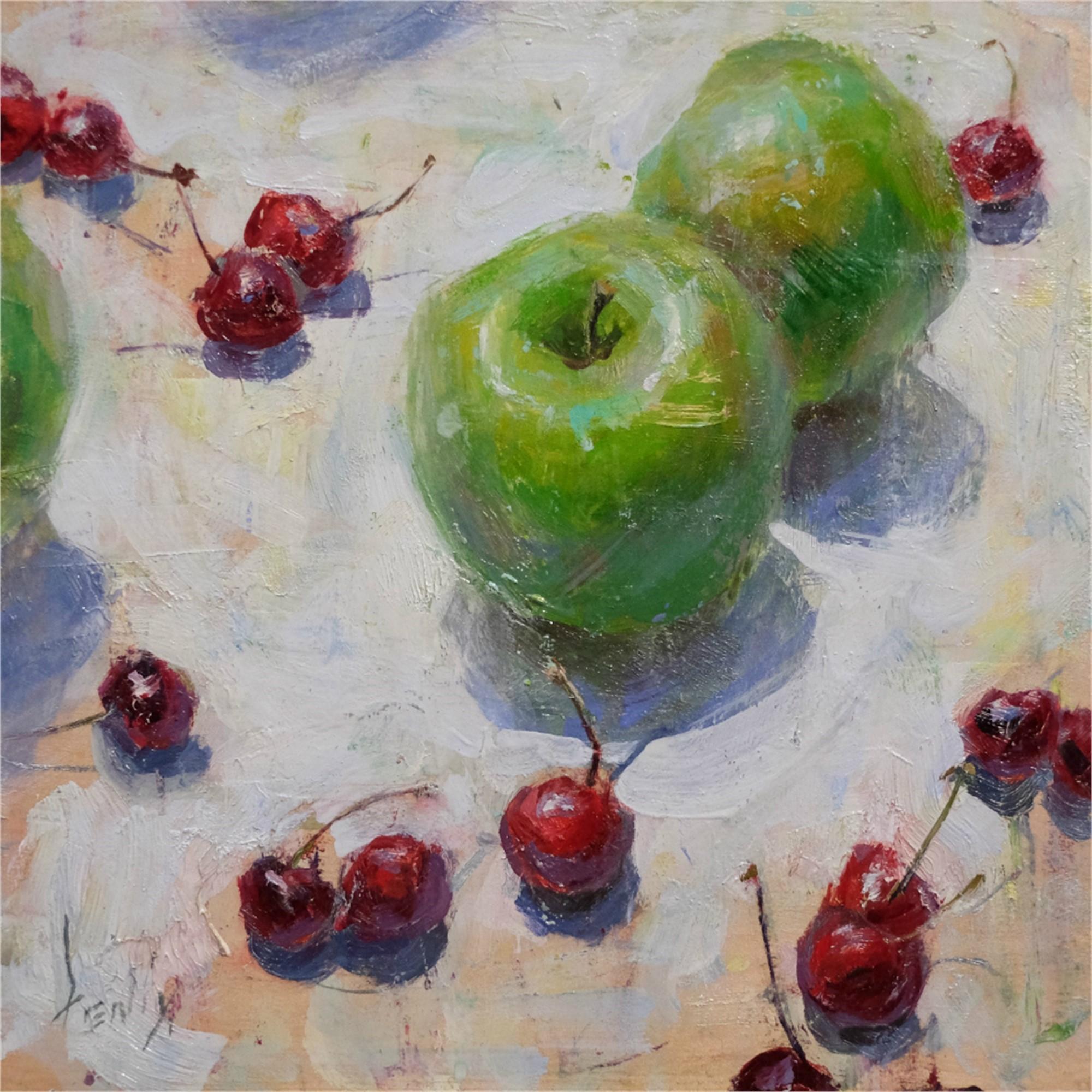 Apples and Cherries by Derek Penix