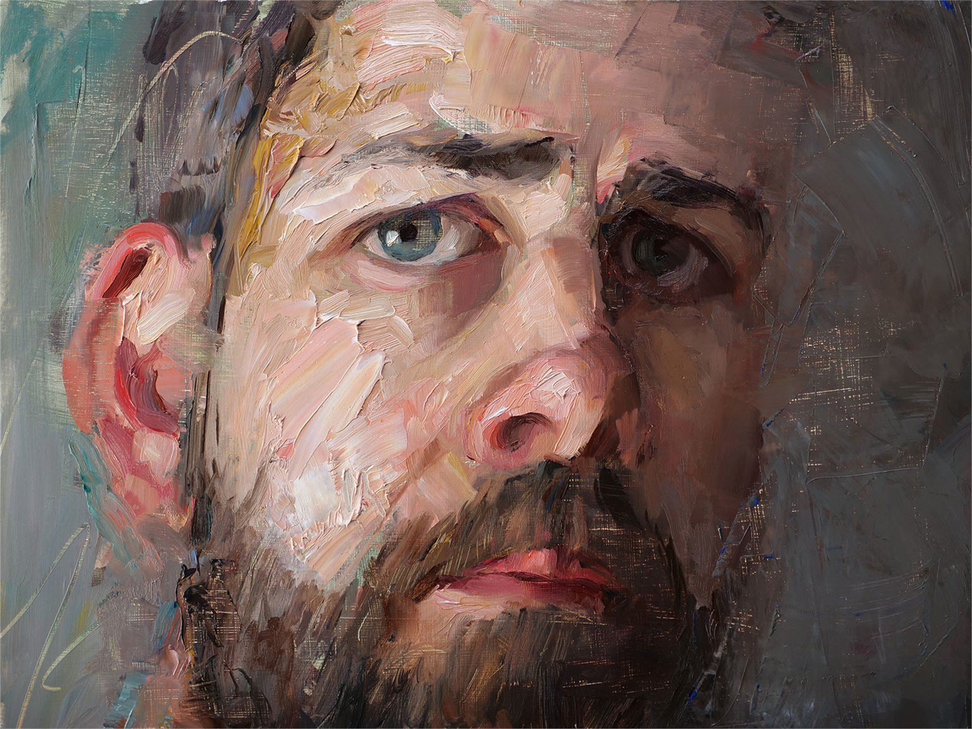 Self Portrait by Matt Talbert