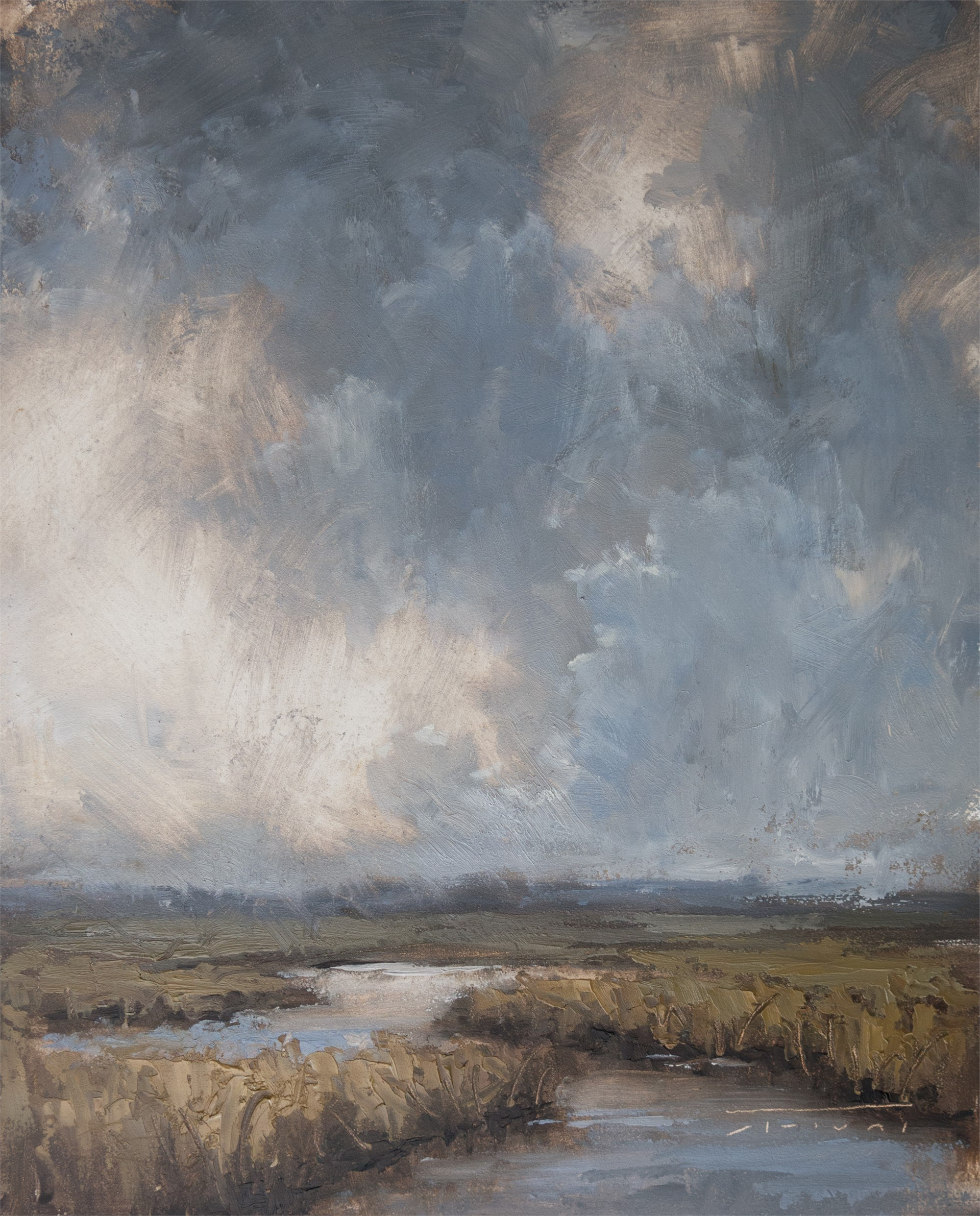 Storm Clouds by Jane Hunt