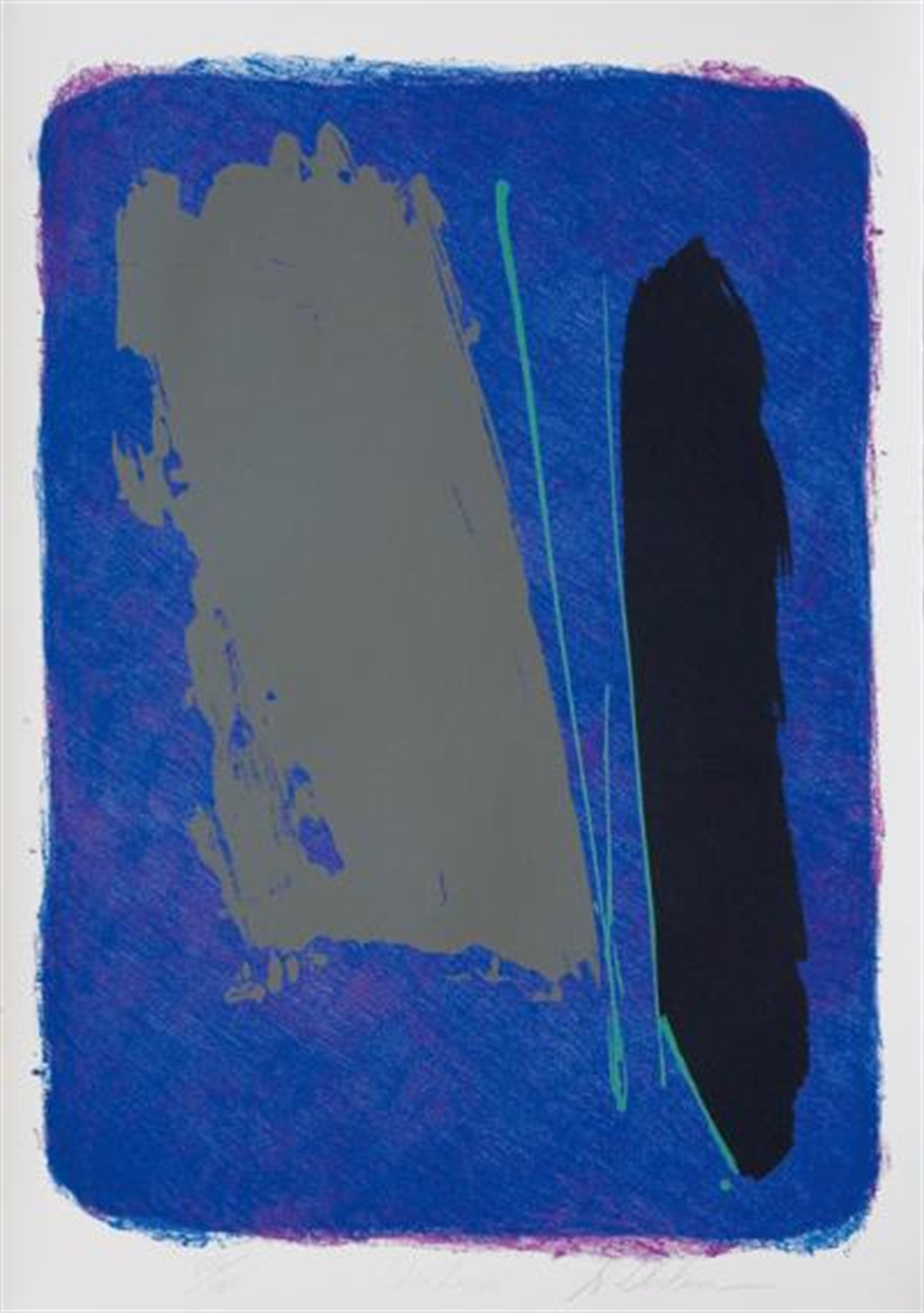 Blue Rancho by Dan Christensen