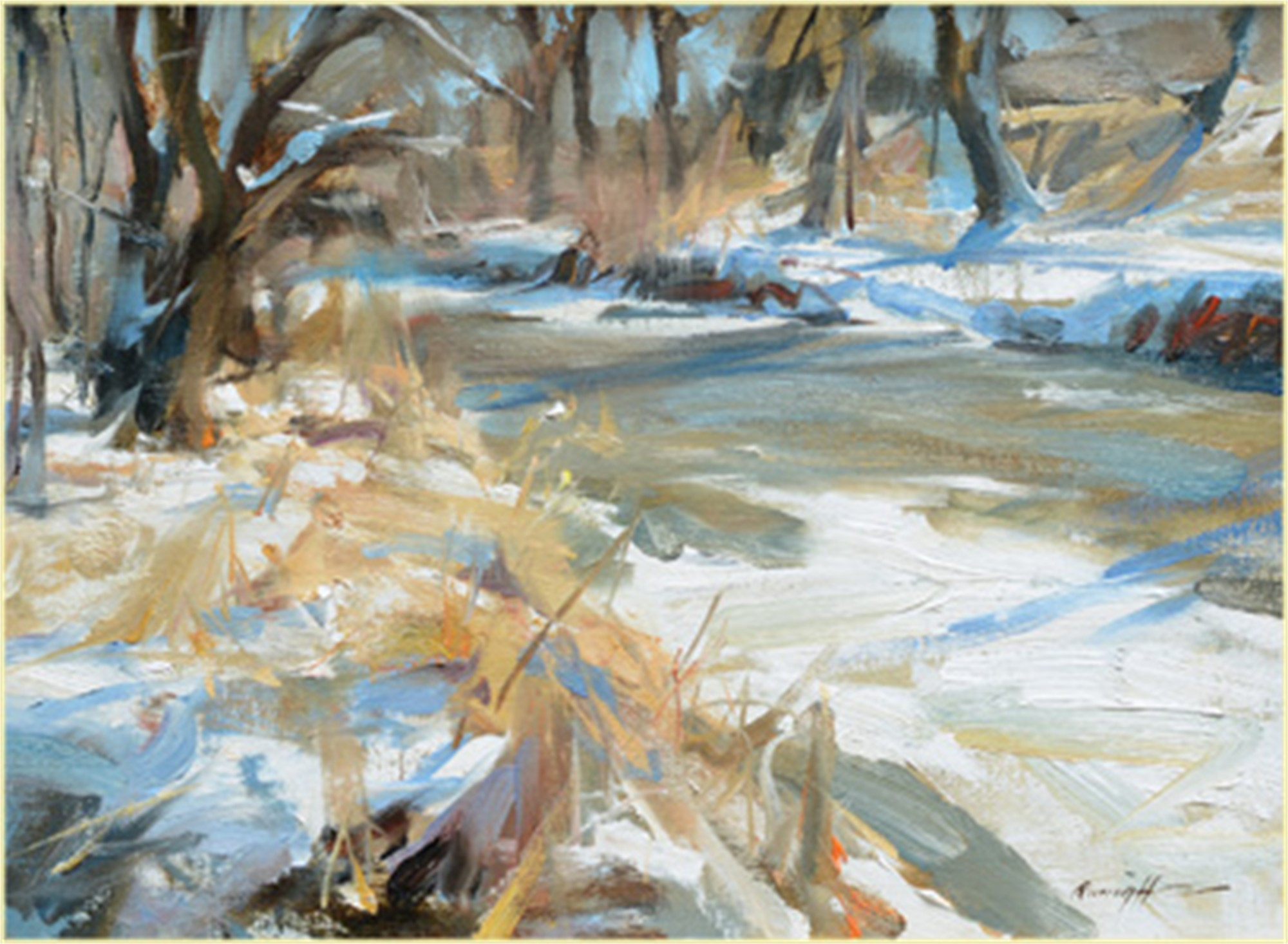 Cherry Creek in January by Quang Ho