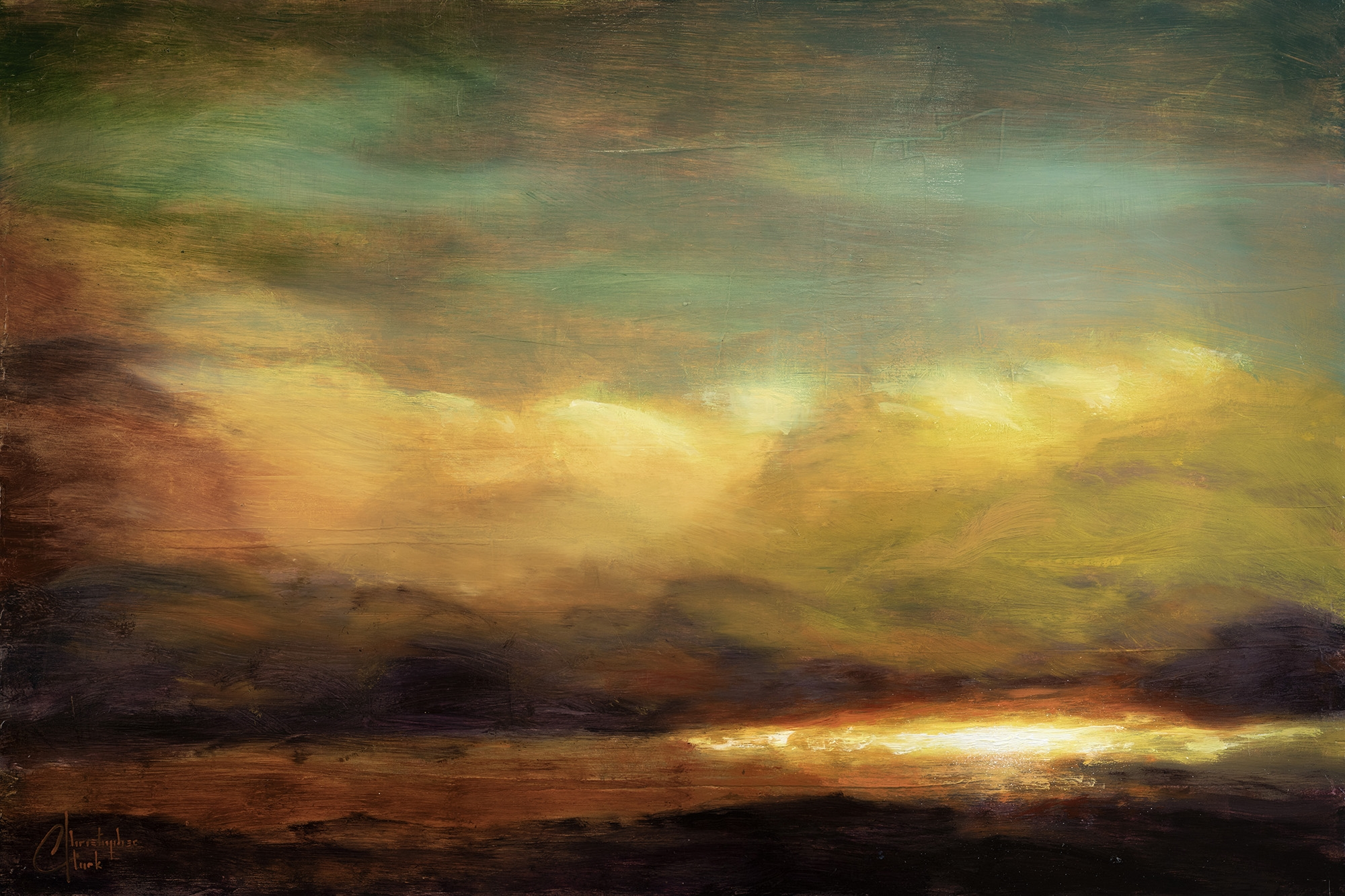 Cloudscape II by Christopher Clark
