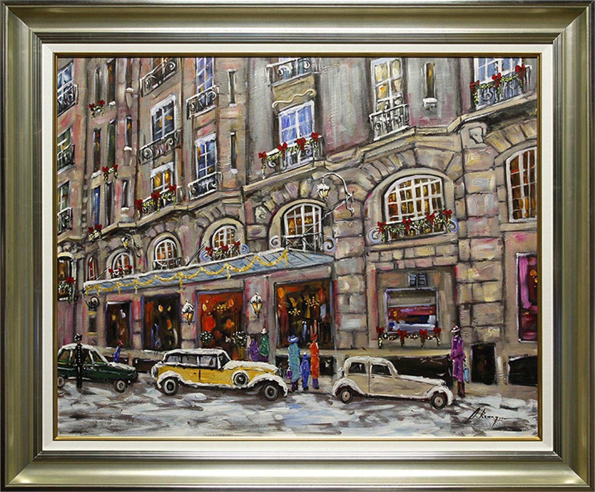 Hotel Le Bristol, Paris by Andrea Berenguer
