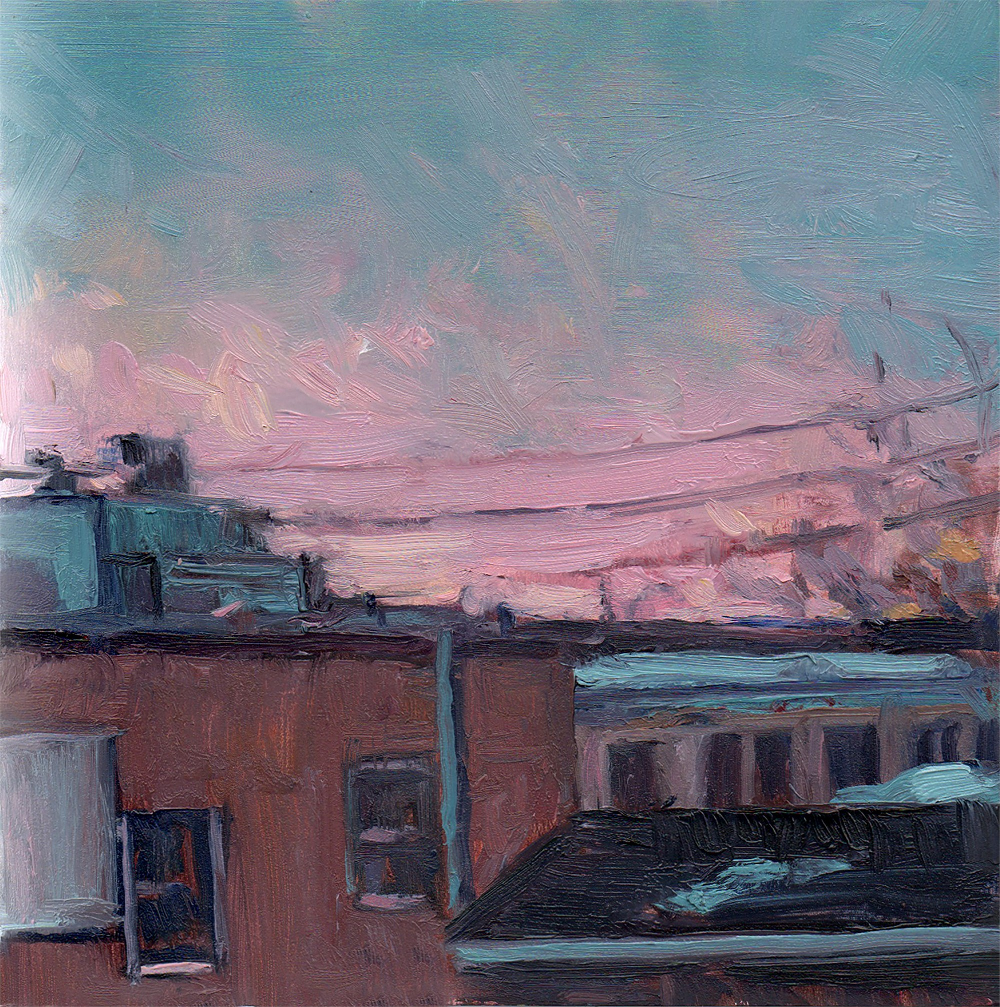 Rooftops by Mary Flack