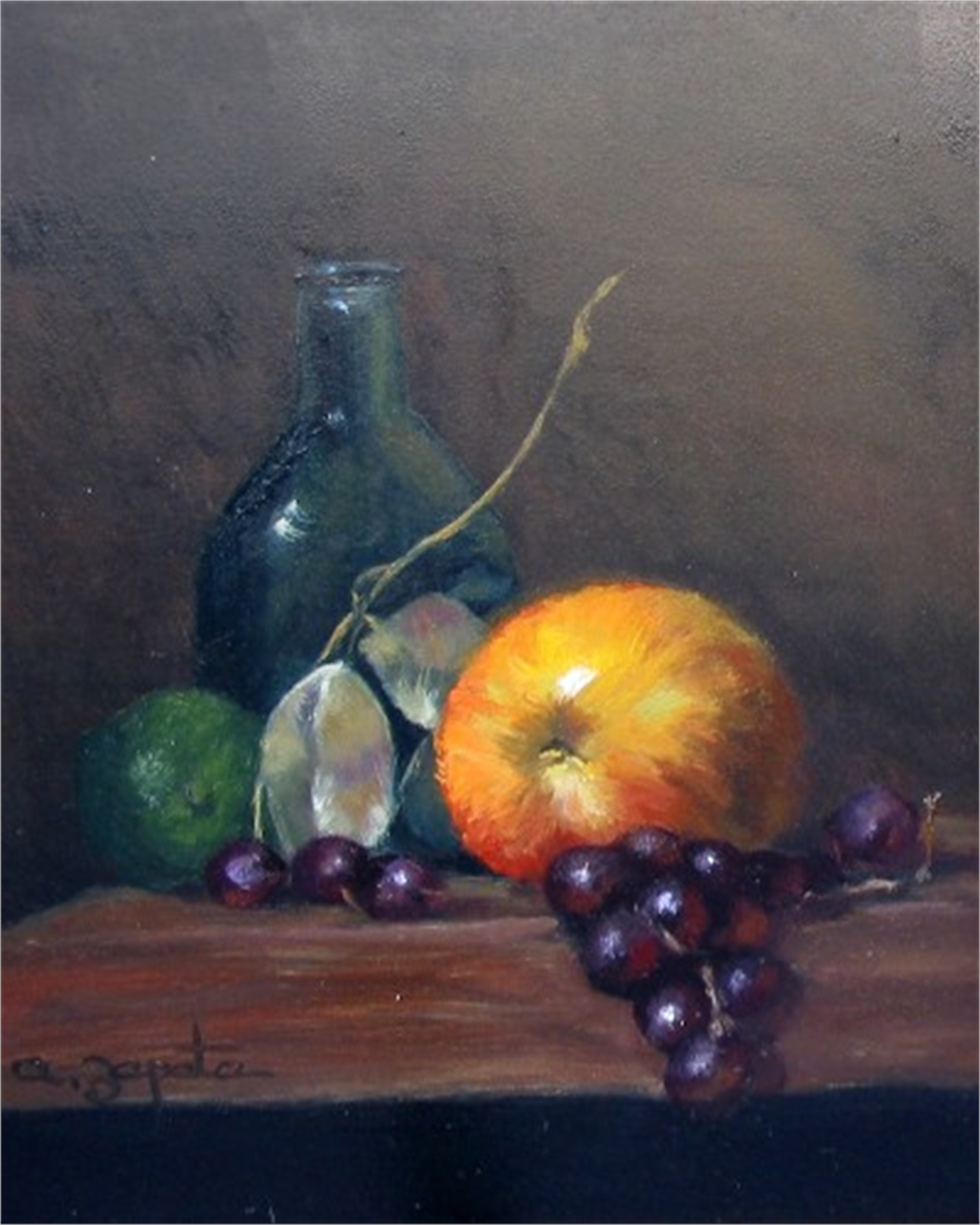GRAPE AND APPLE by ZAPATA