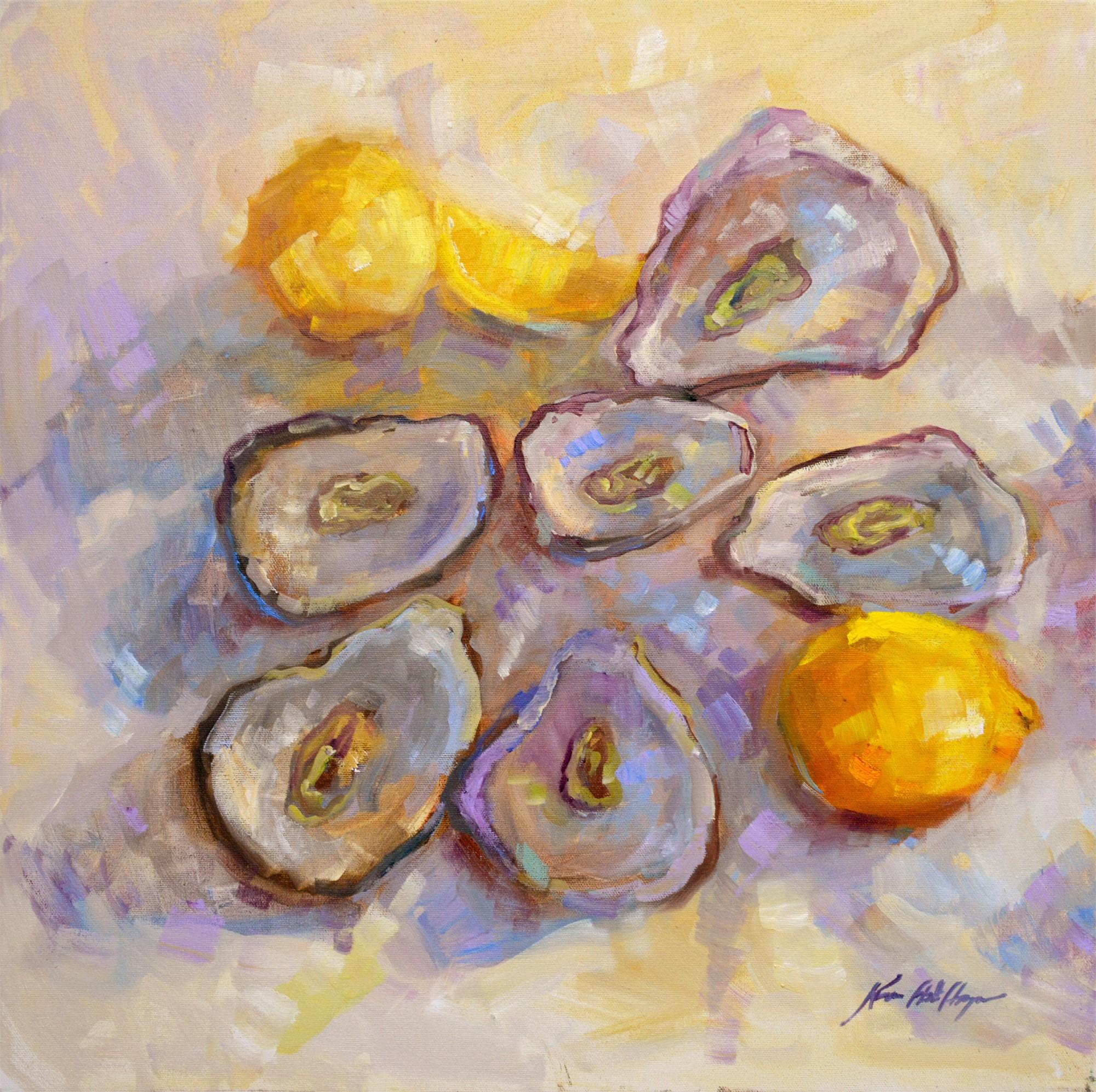 Six Oysters on a Thursday Night by Karen Hewitt Hagan