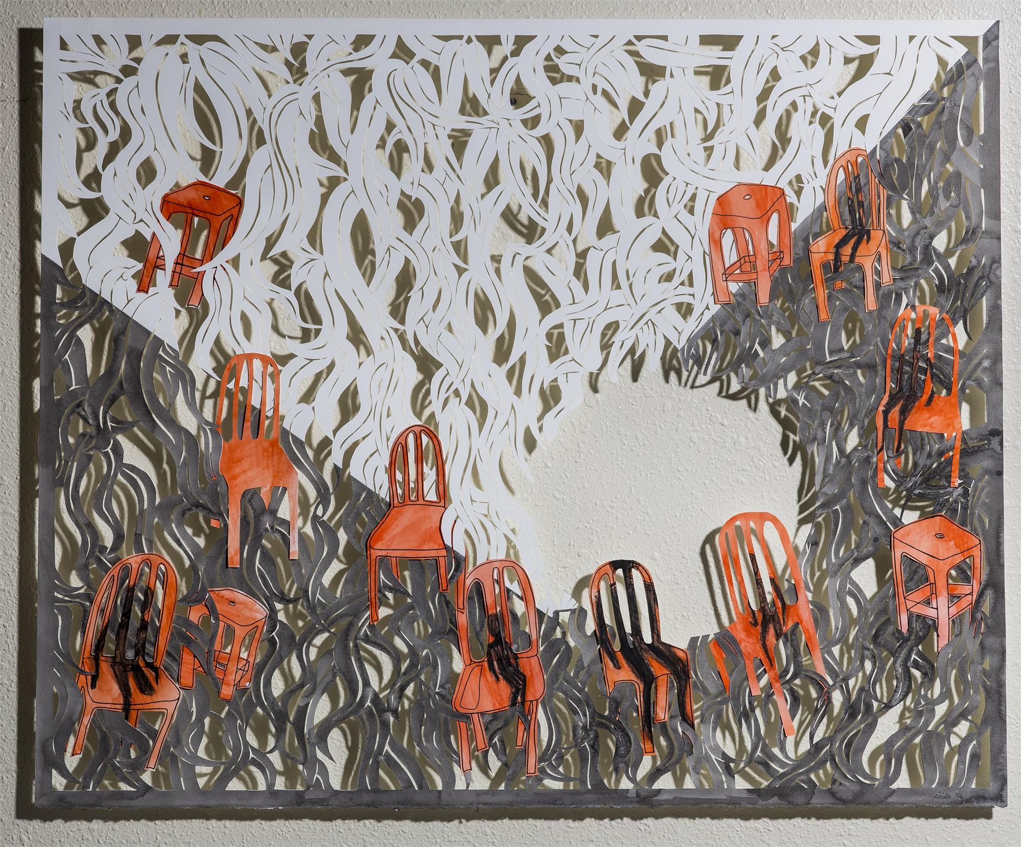 Night in the Garden by Lauren Iida