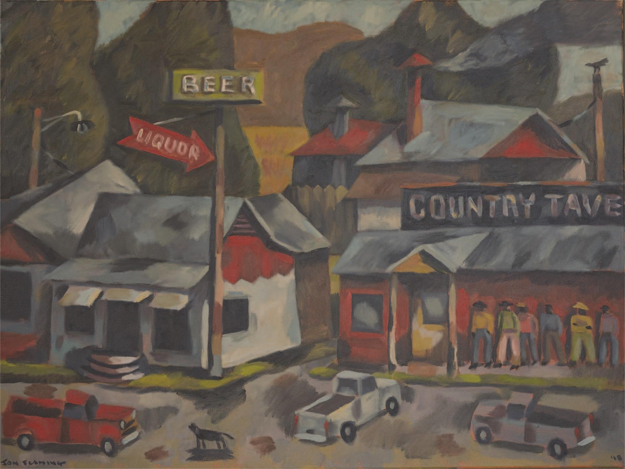 Country Tavern BBQ, Kilgore, Texas by Jon Flaming