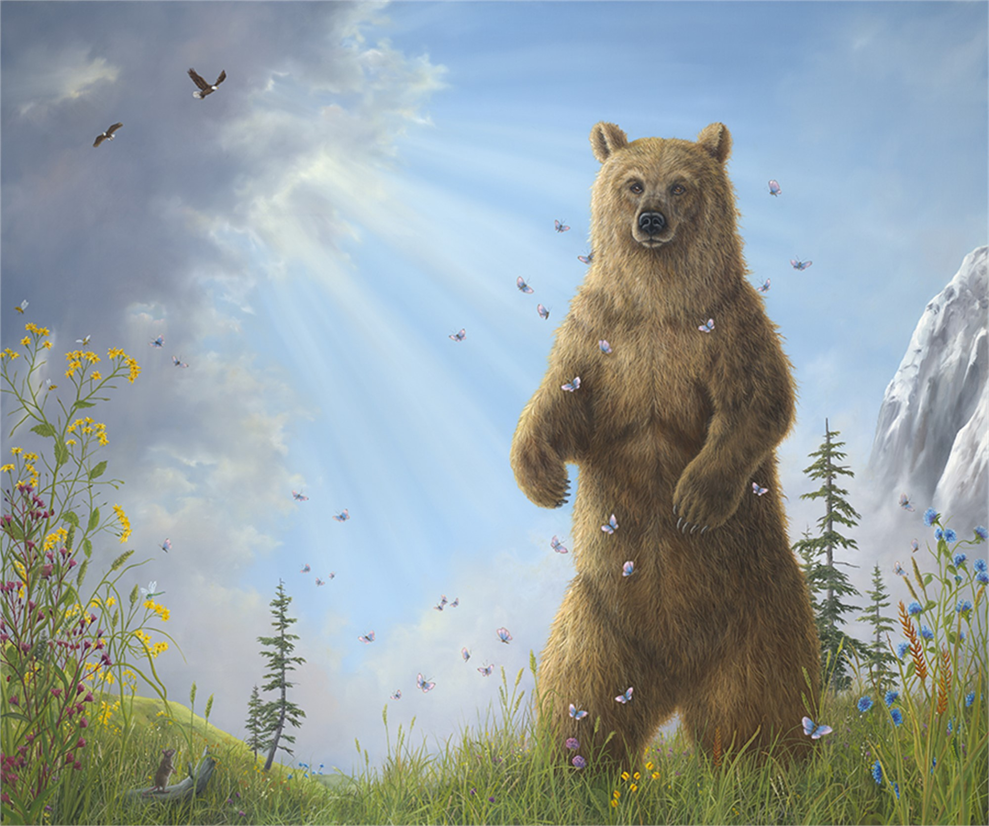 Majesty (AP Hand-Enhanced) by Robert Bissell