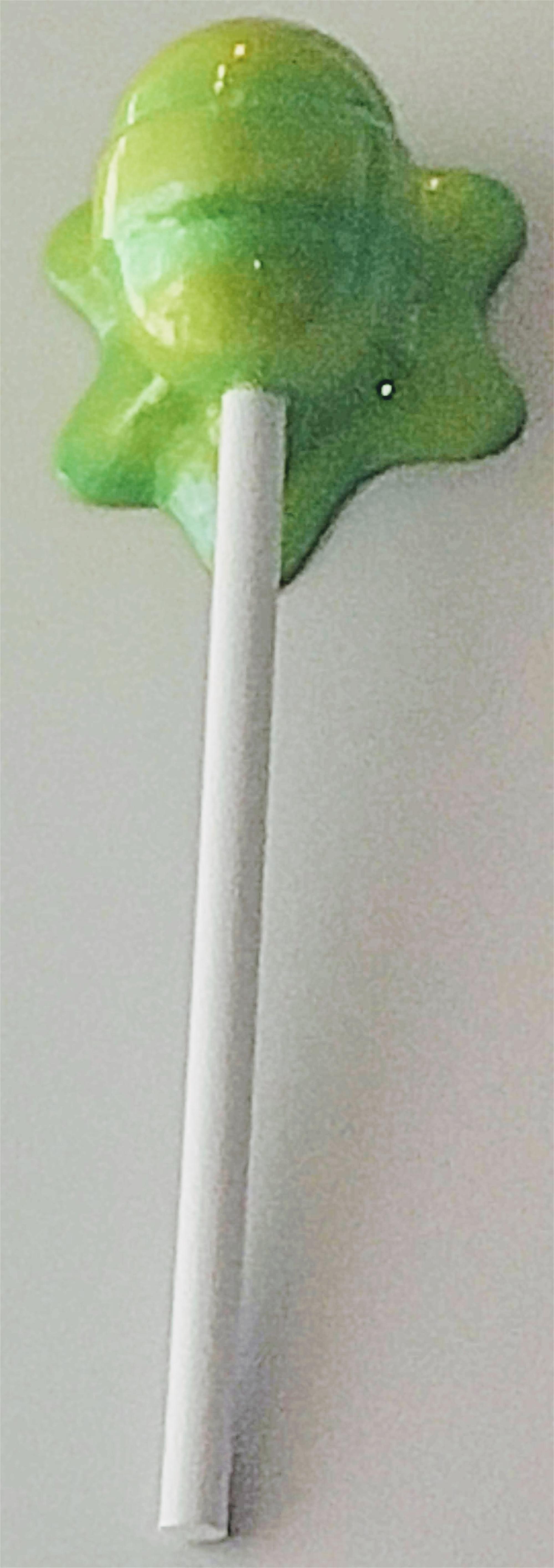 """The Sweet Life"" lime Green Horizontal Lollipop by Elena Bulatova"