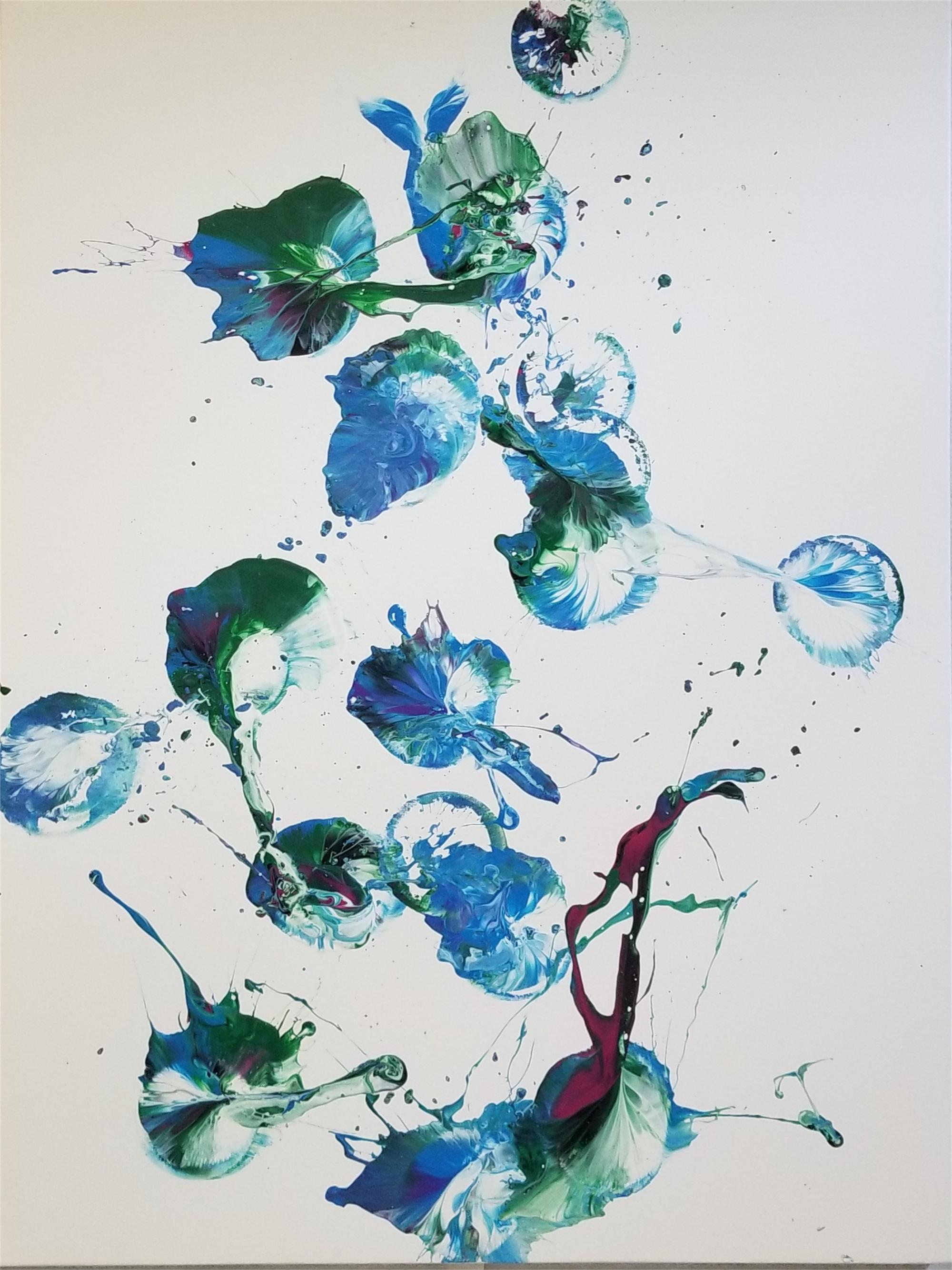Happy Blues by Cecilia Fransson