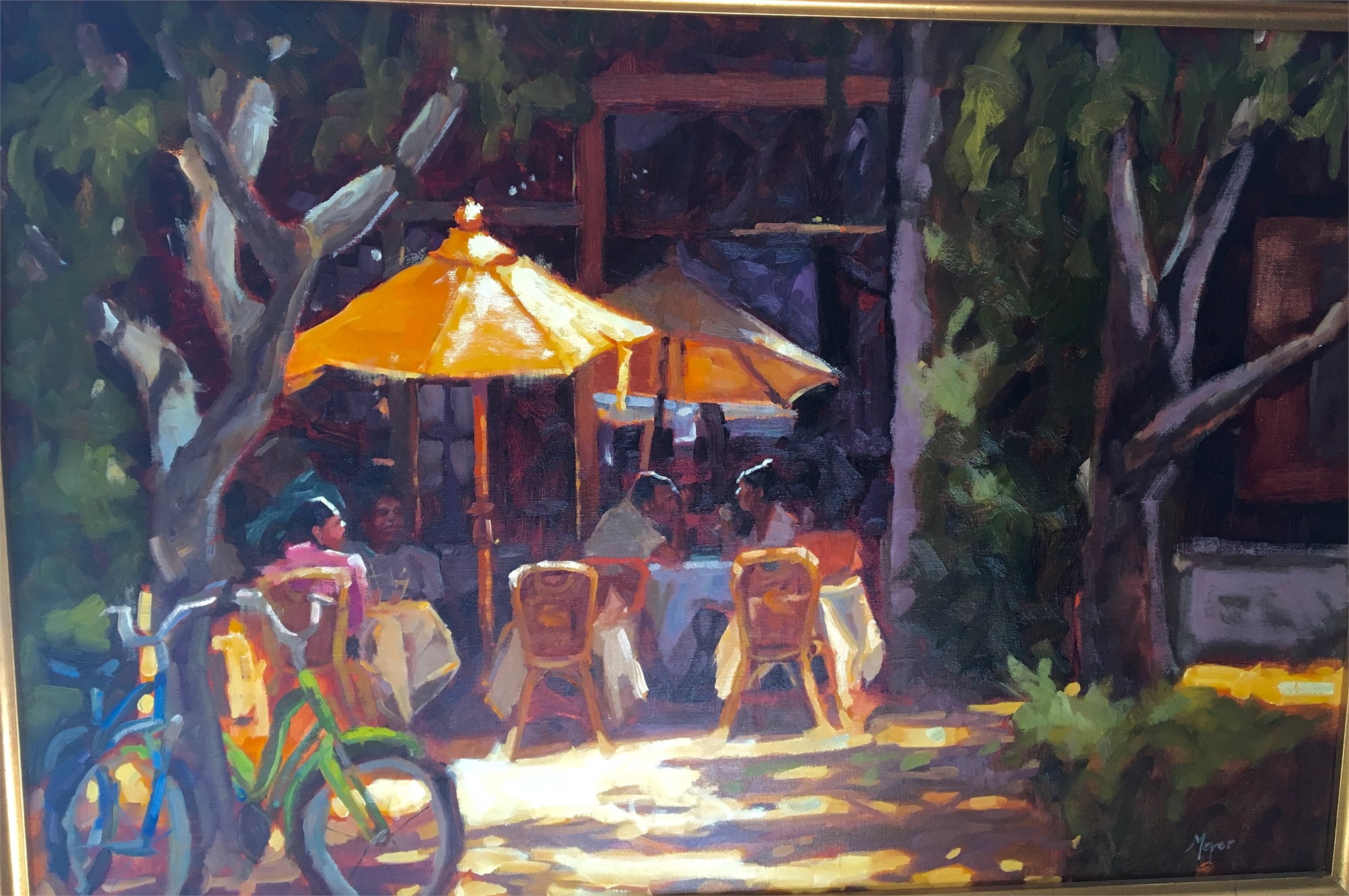 Yellow Umbrella by Laurie Meyer