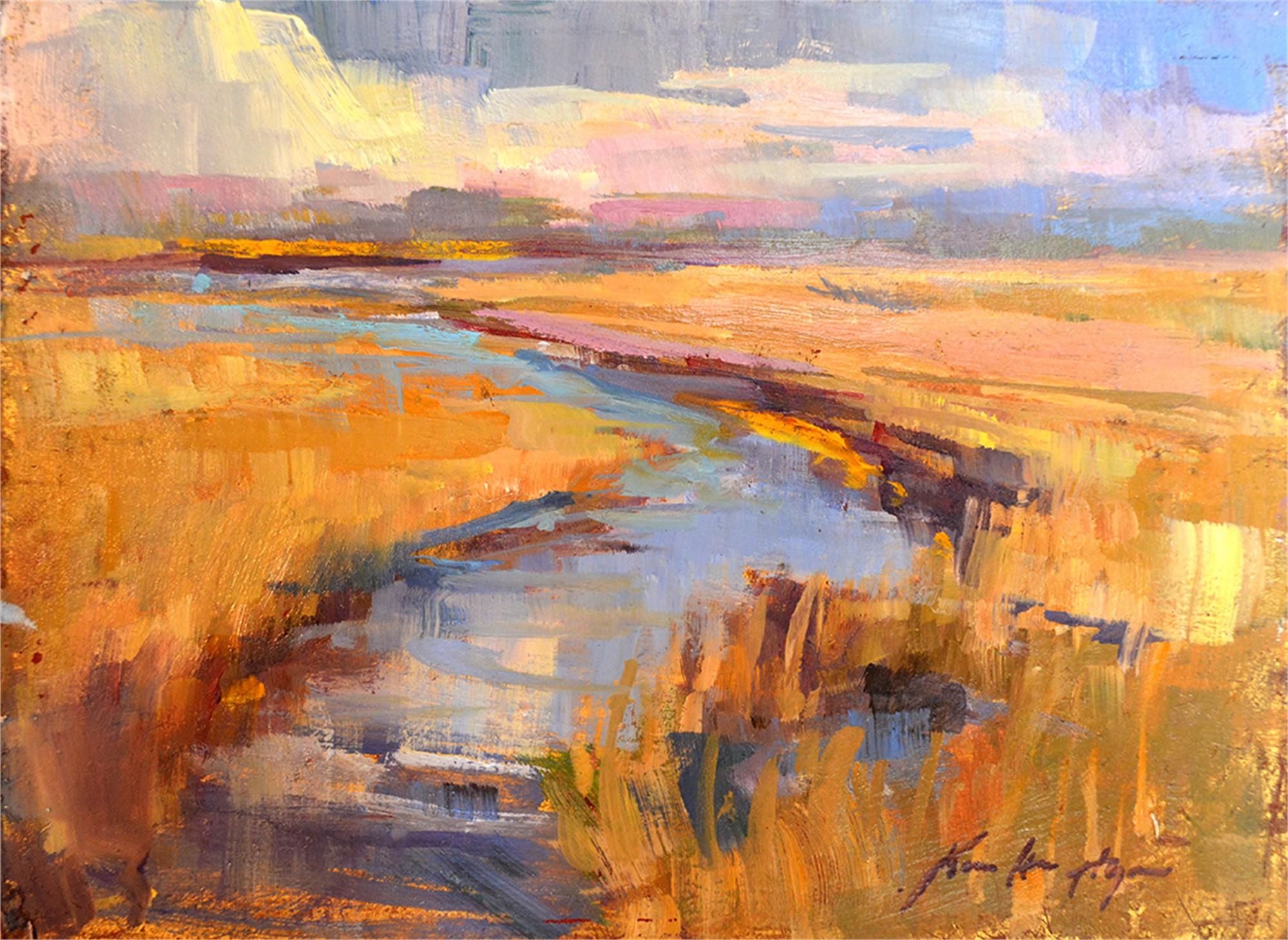 Golden Marsh by Karen Hewitt Hagan