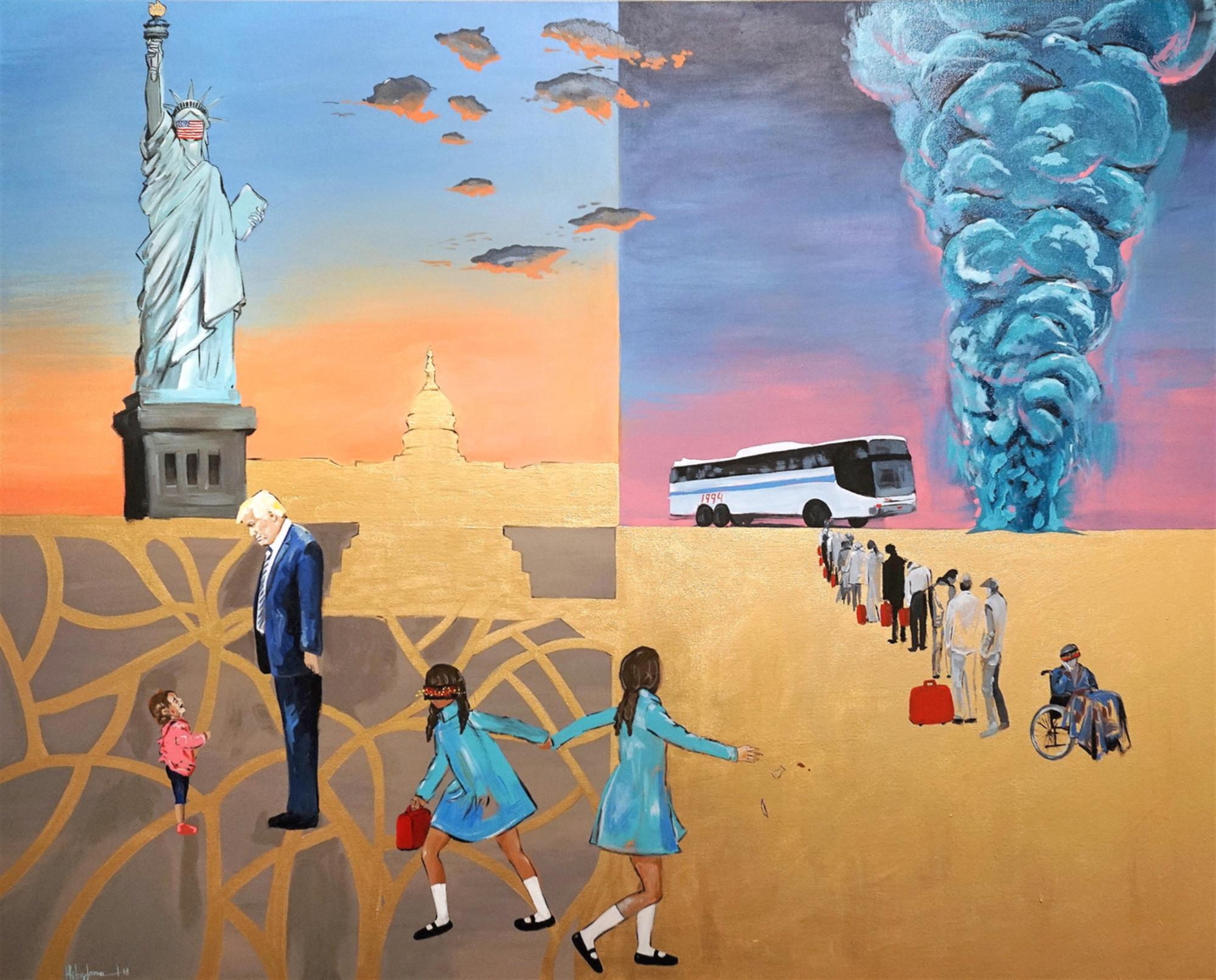 Time Travel in Mahjar by Hiba Jameel