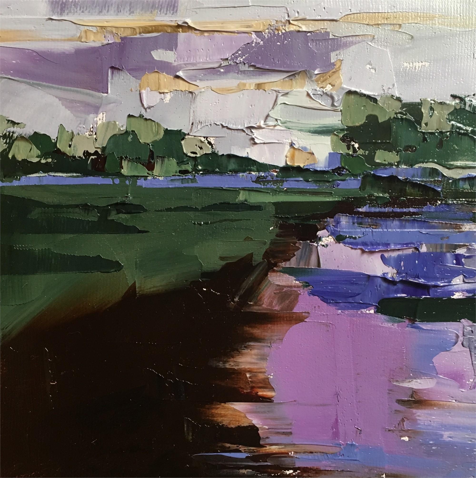 Violet Sky by Sandra Pratt