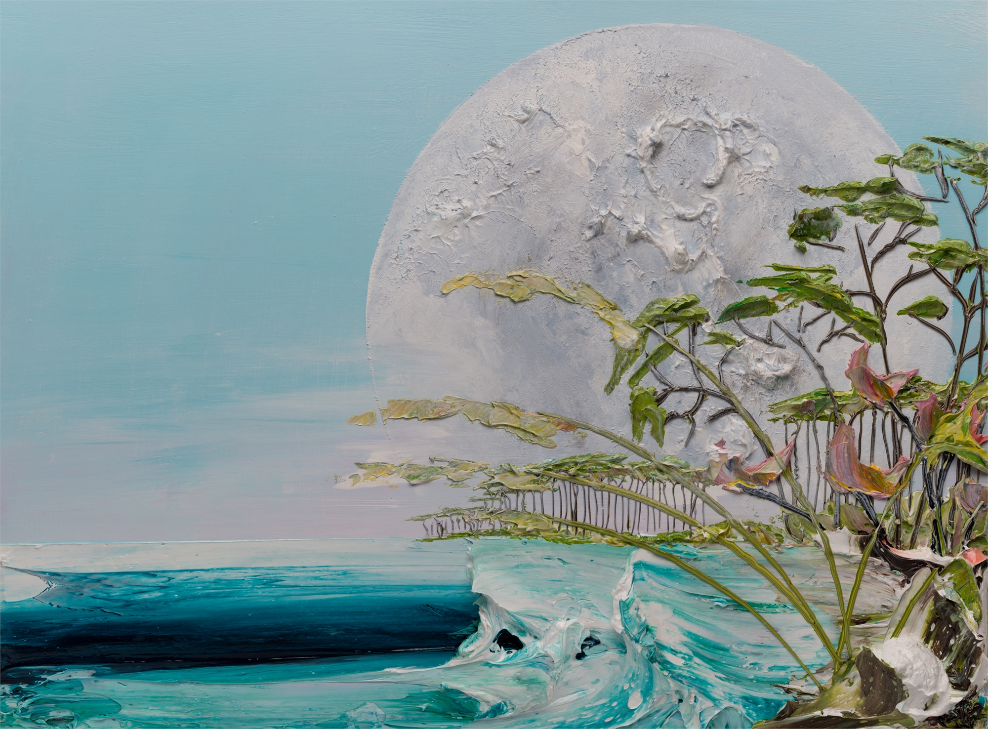 MOONSCAPE -MS-40X30-2019-240 by JUSTIN GAFFREY