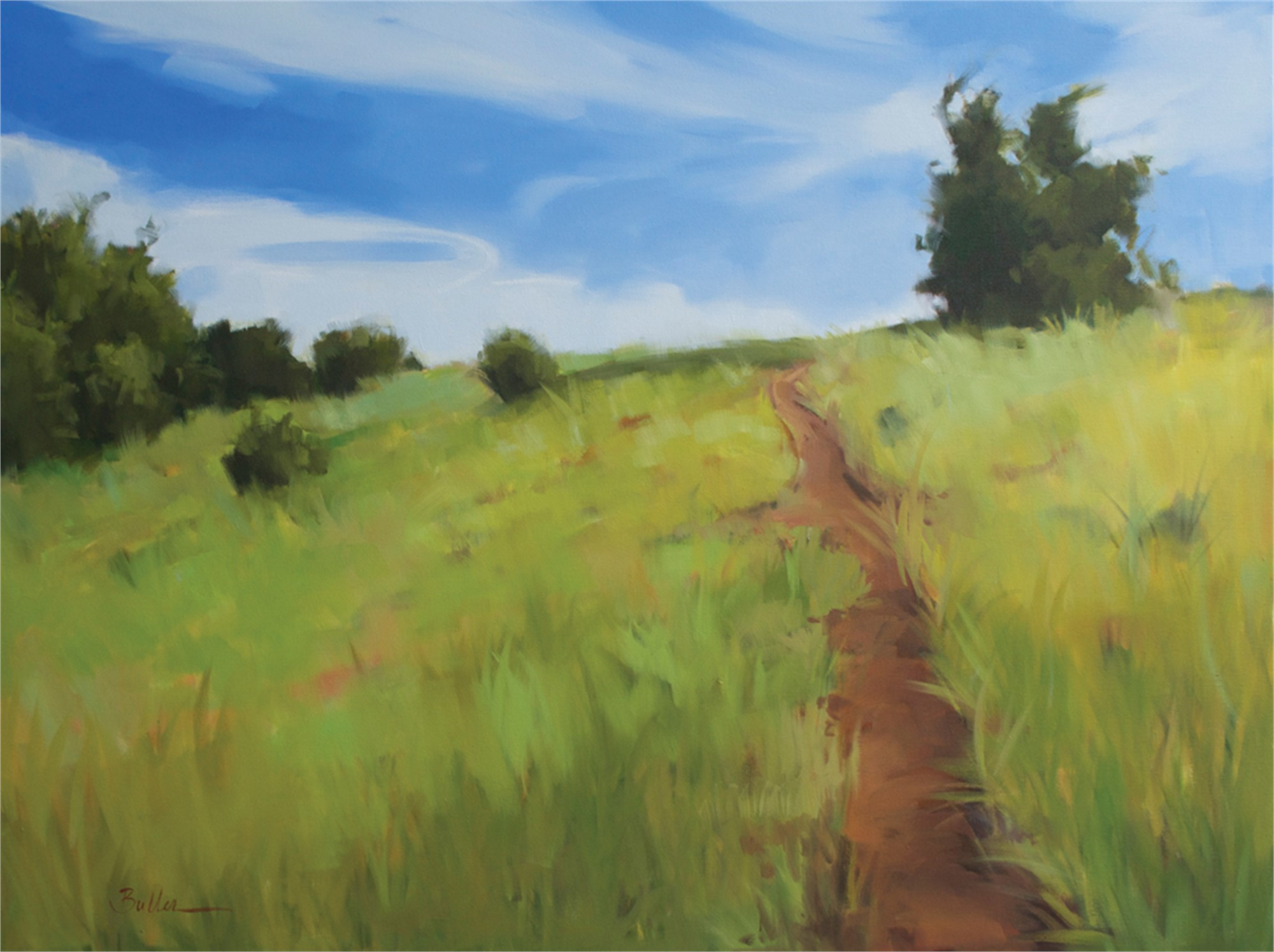 Over the Hill by Samantha Buller