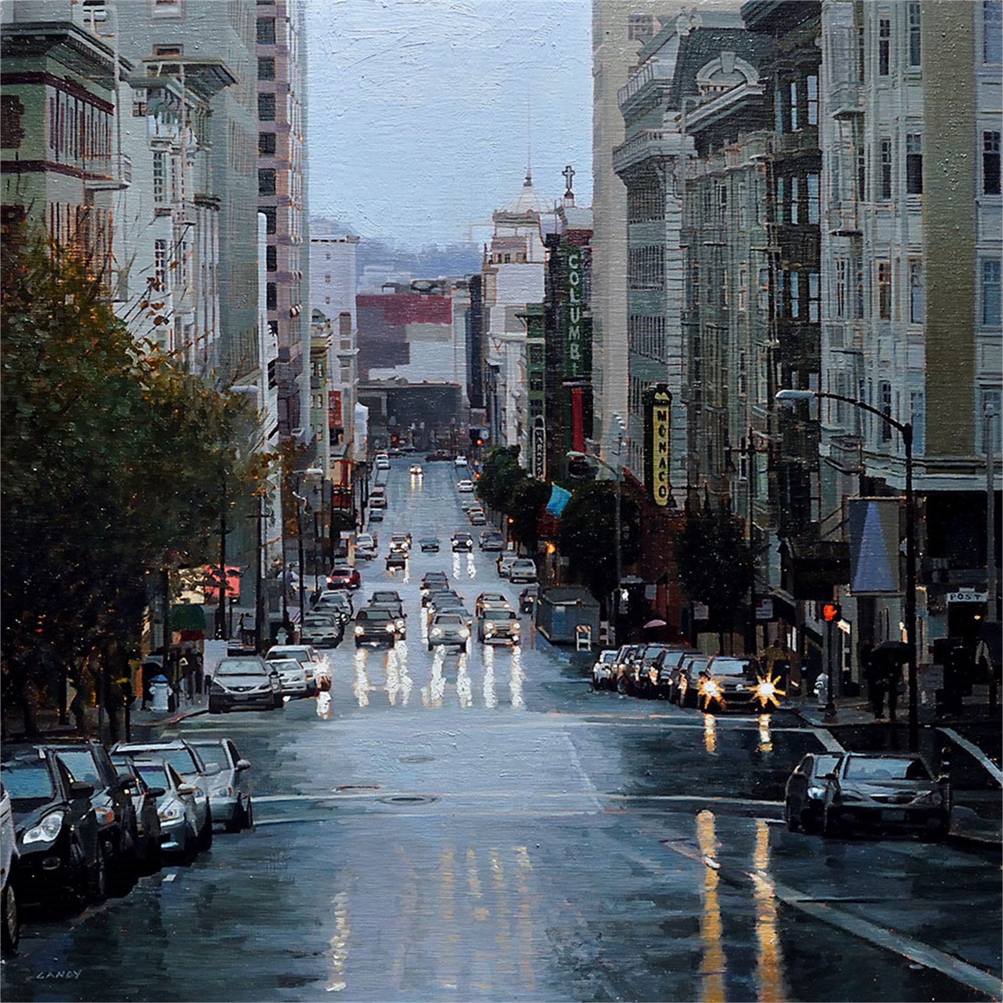 Looking Down Taylor Street by Greg Gandy