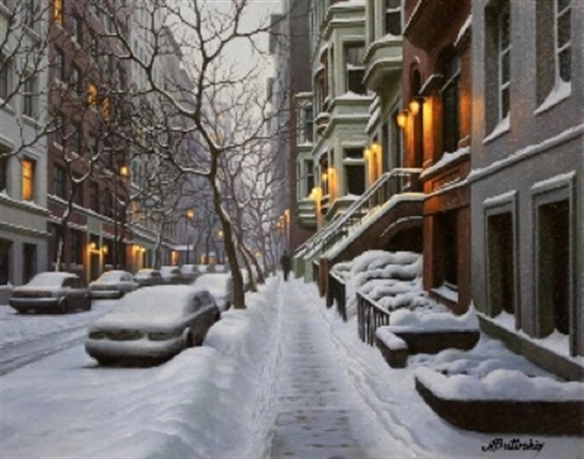 New York Brownstones by Alexei Butirskiy