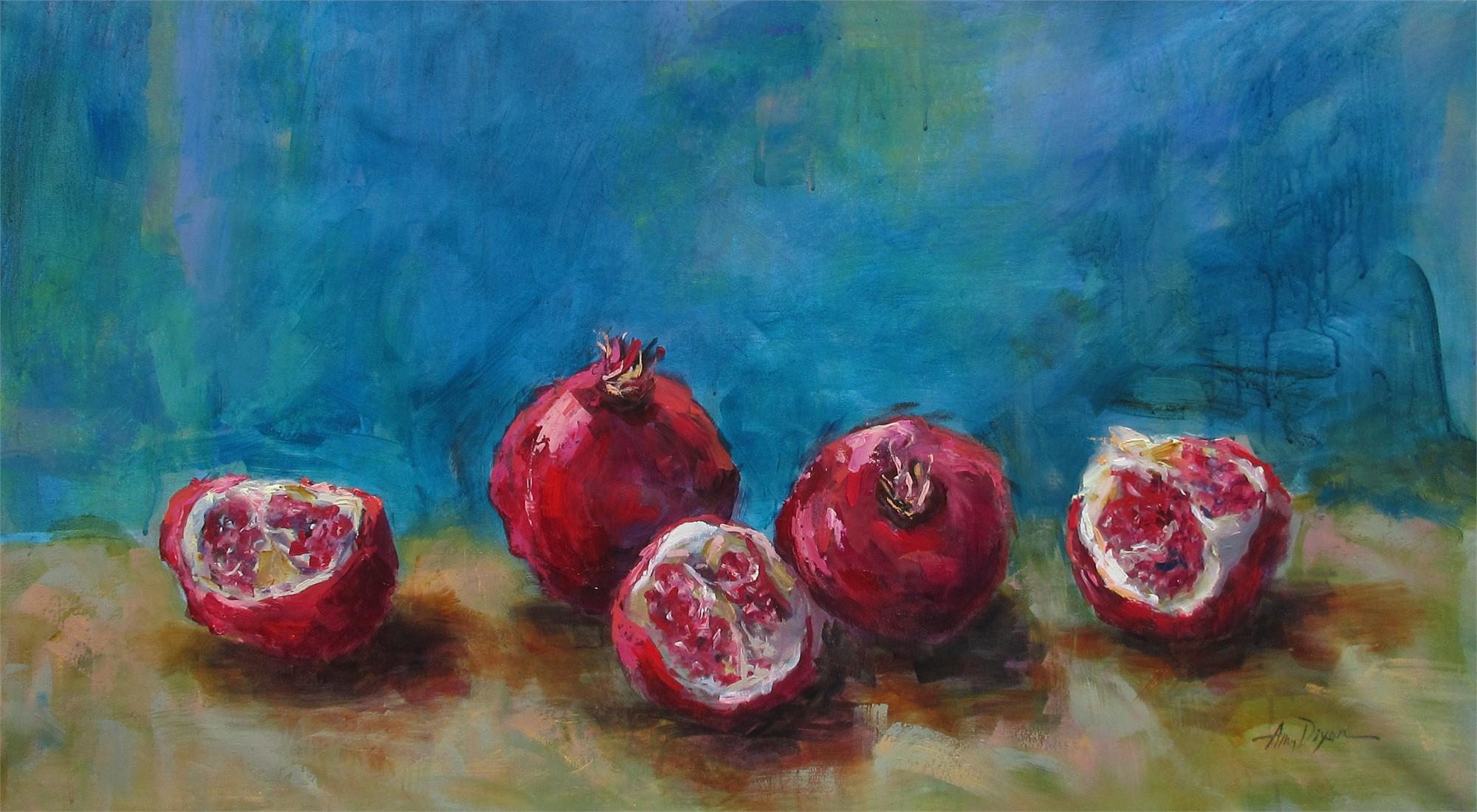 Pomegranate Praise by Amy Dixon