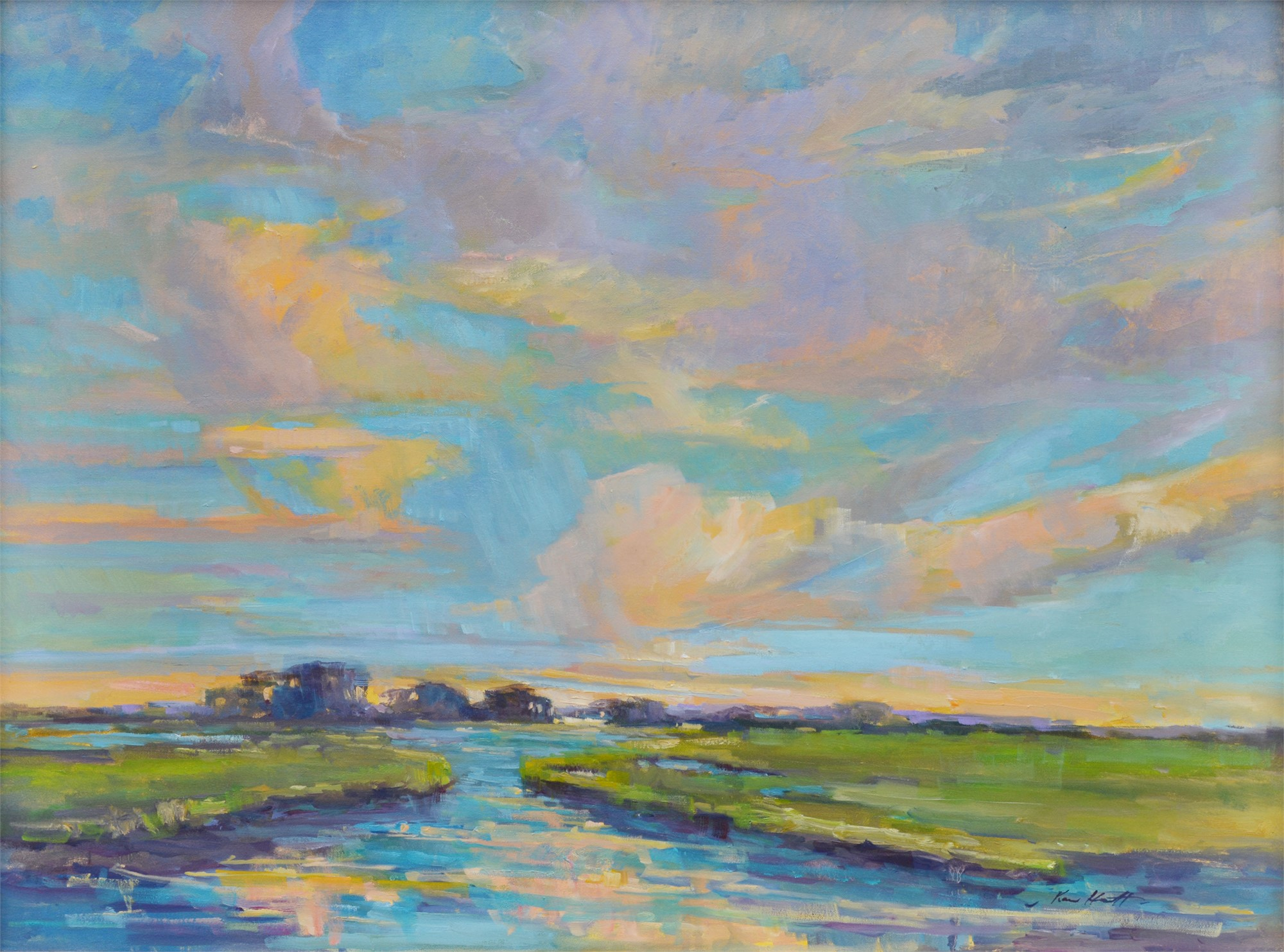 Marsh at Dawn by Karen Hewitt Hagan