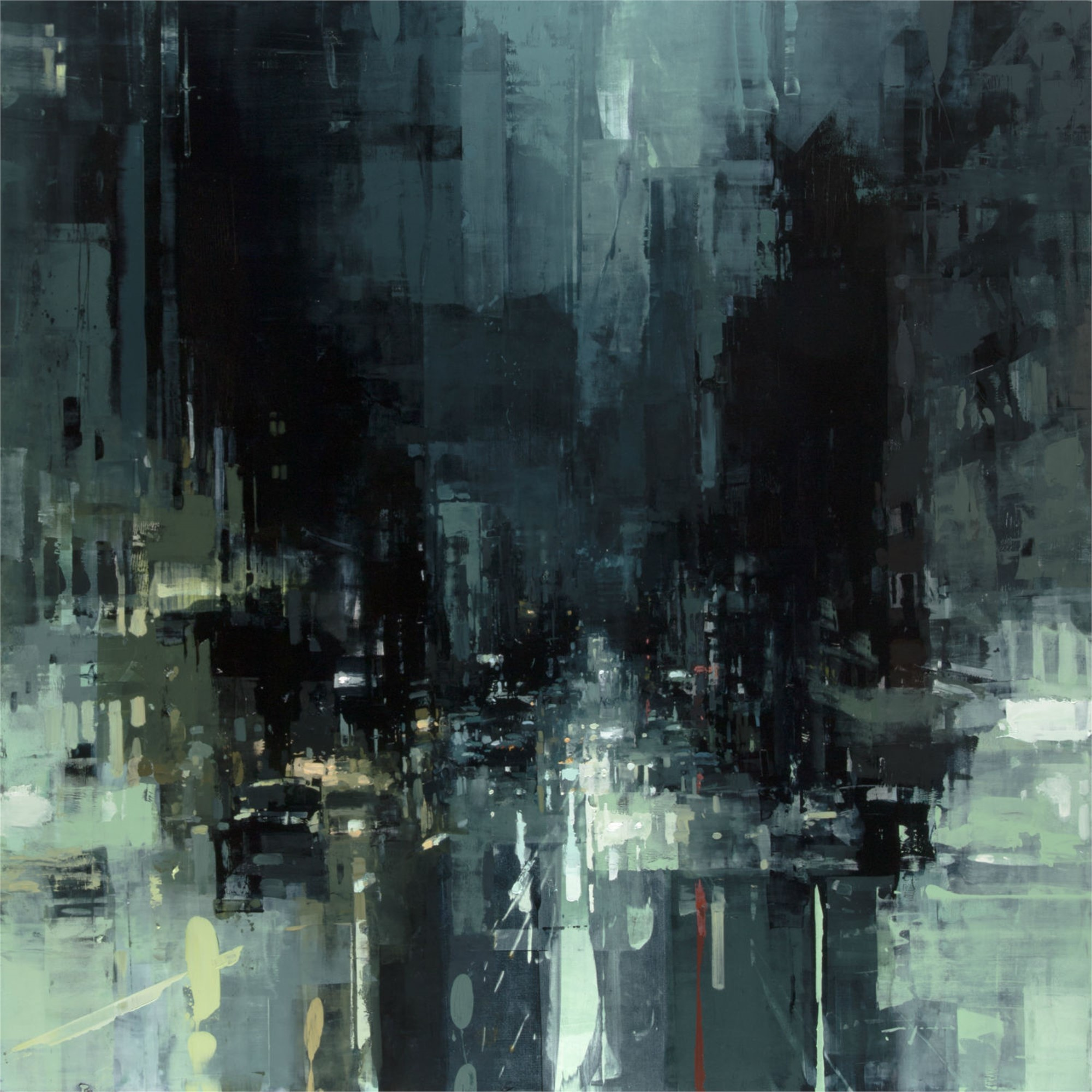The Geary St Storm by Jeremy Mann