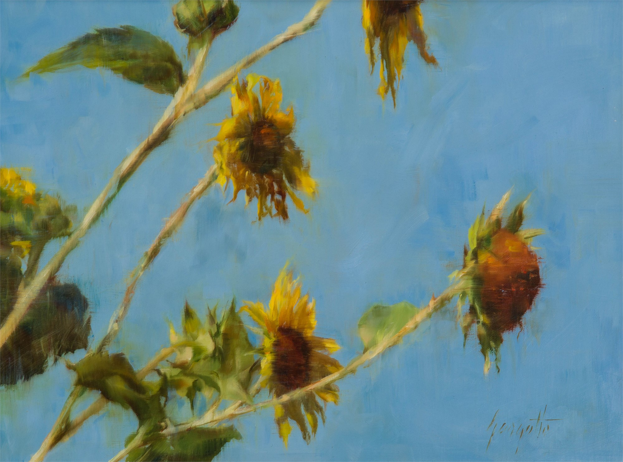 In the Breeze #2 by Ann Gargotto