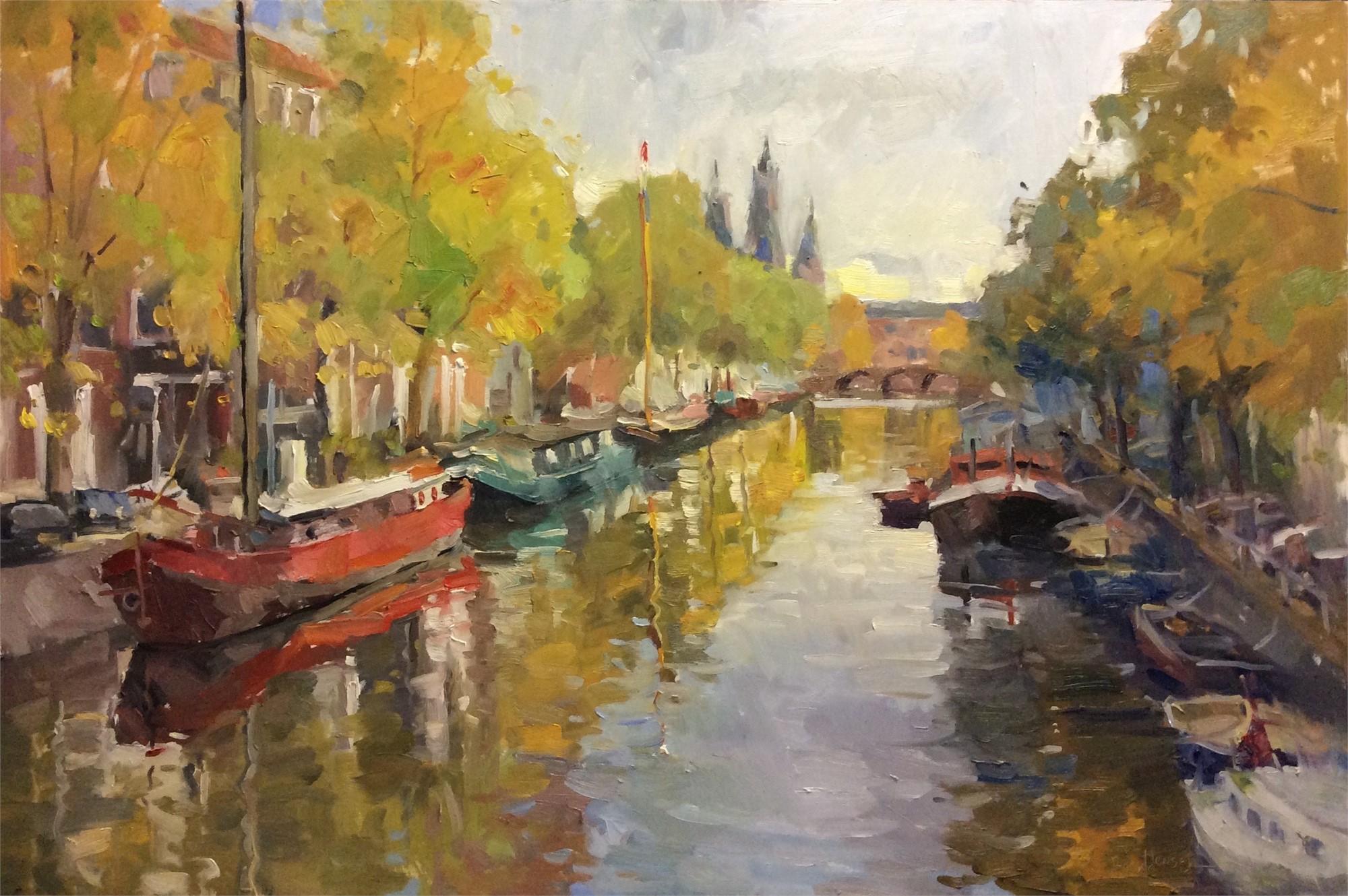 Autumn In Amsterdam  by Brent Jensen