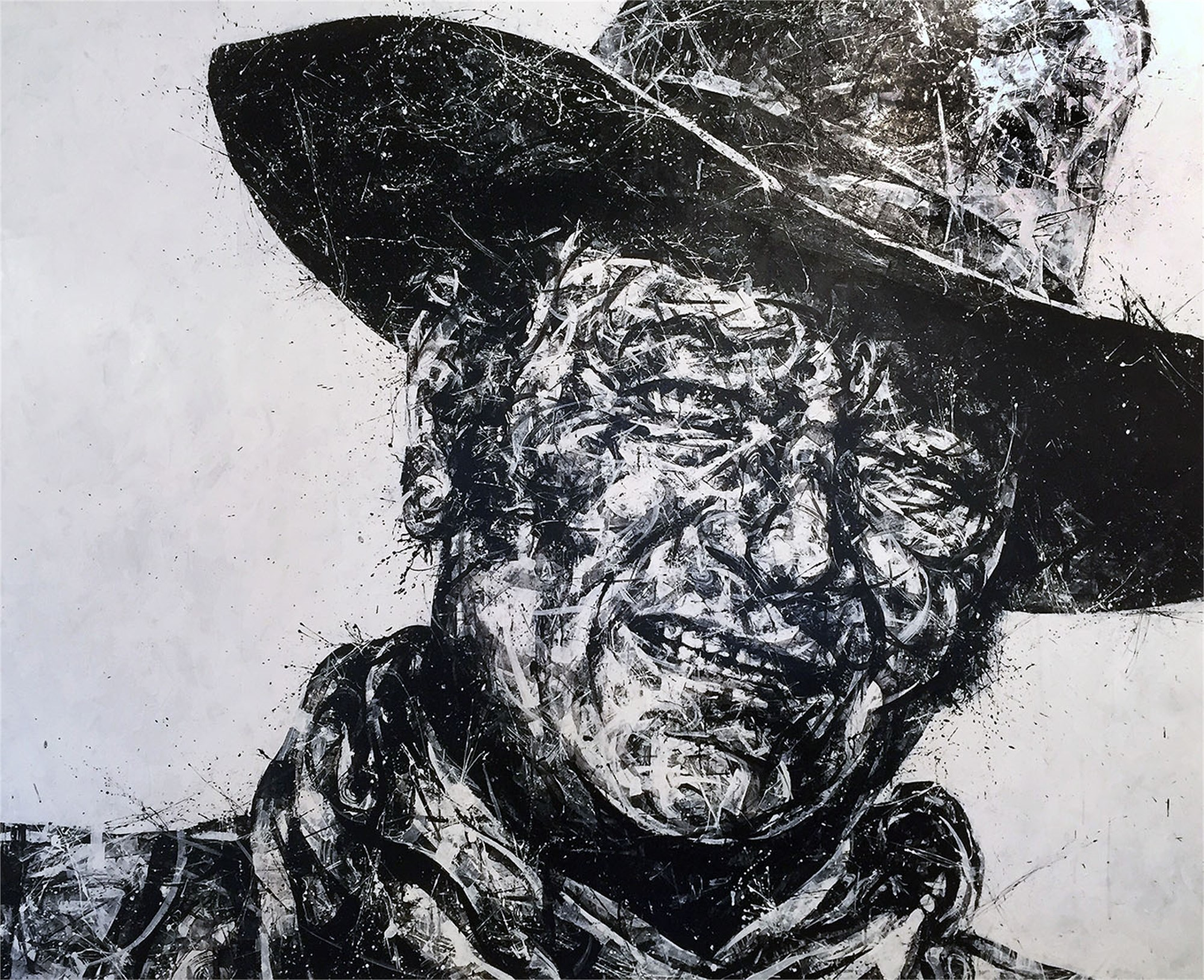 Portrait of John Wayne by Aaron Reichert