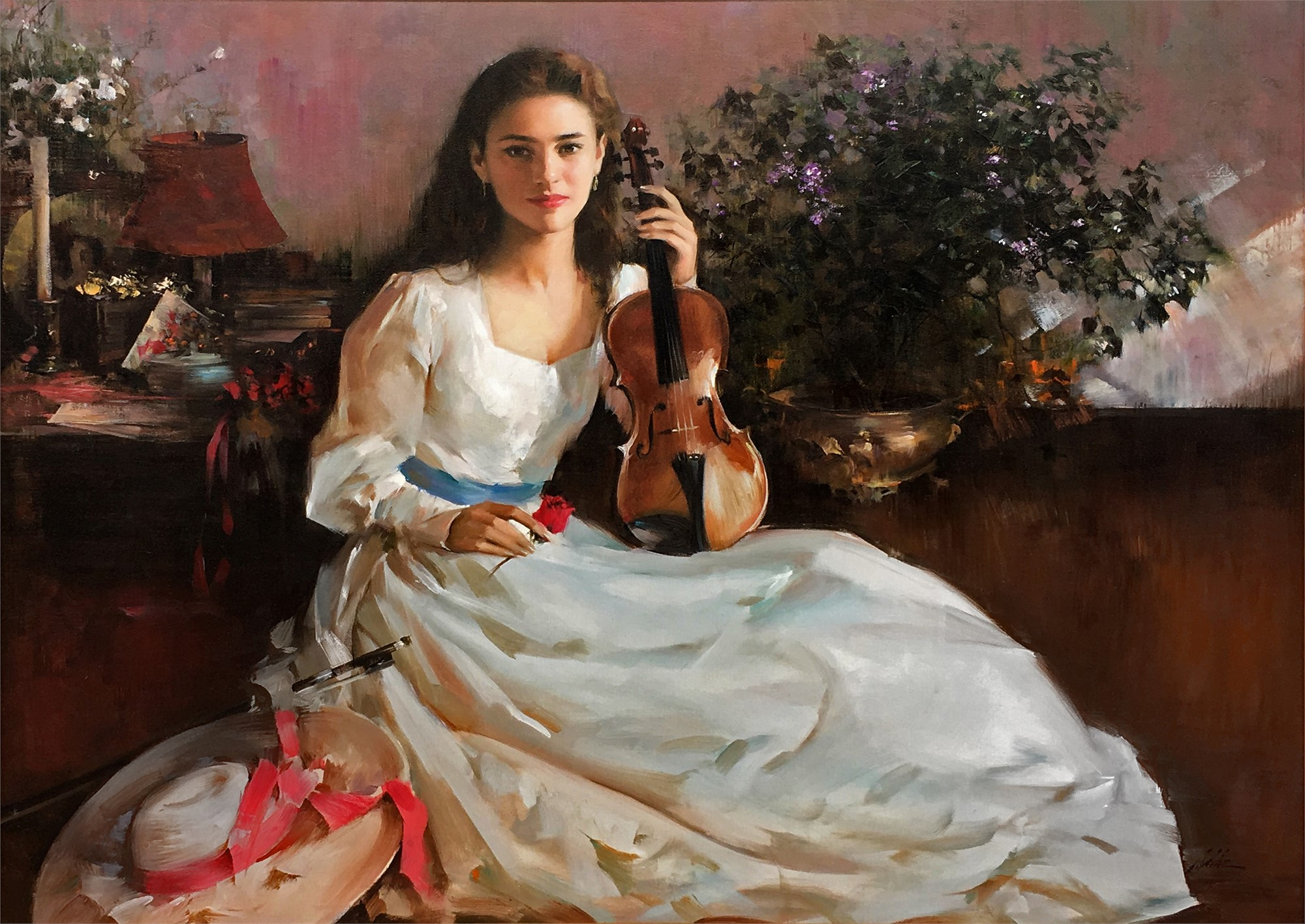 Violin Time by AN HE
