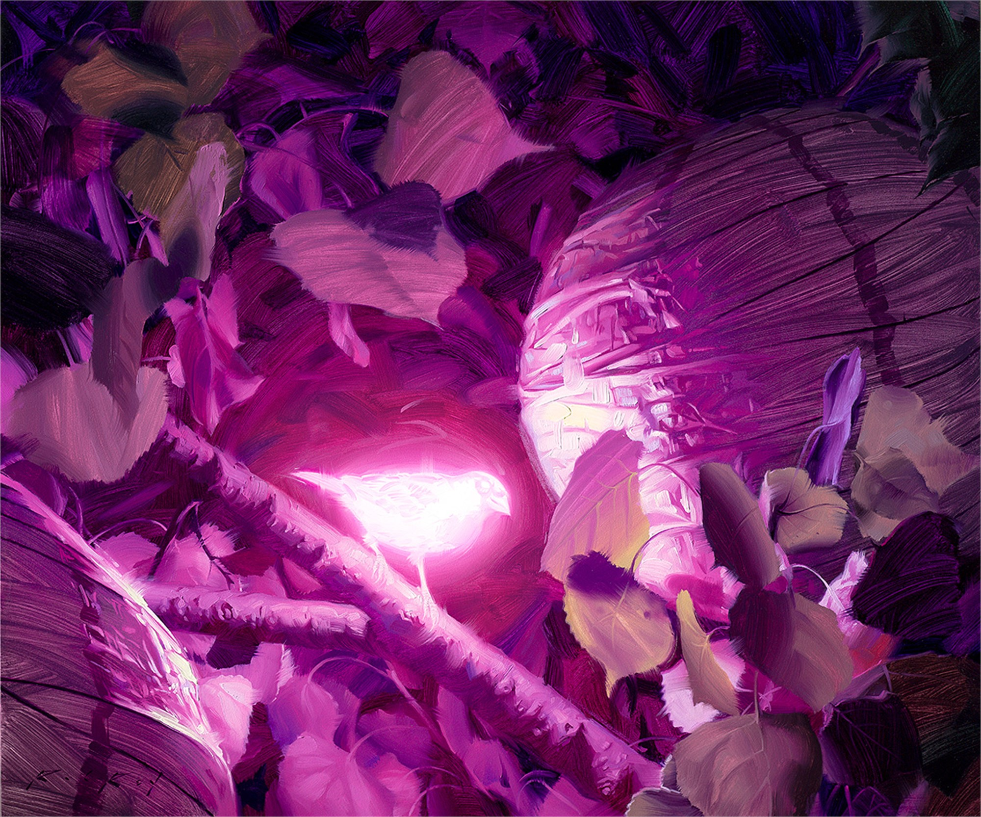 Bioluminescence 8 by Rob Rey