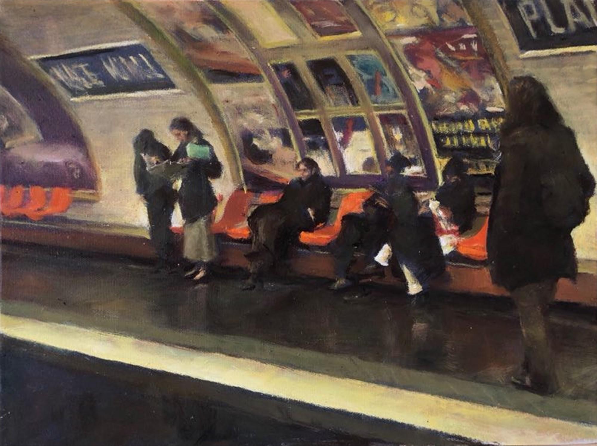 Paris Subway by Shang Ding