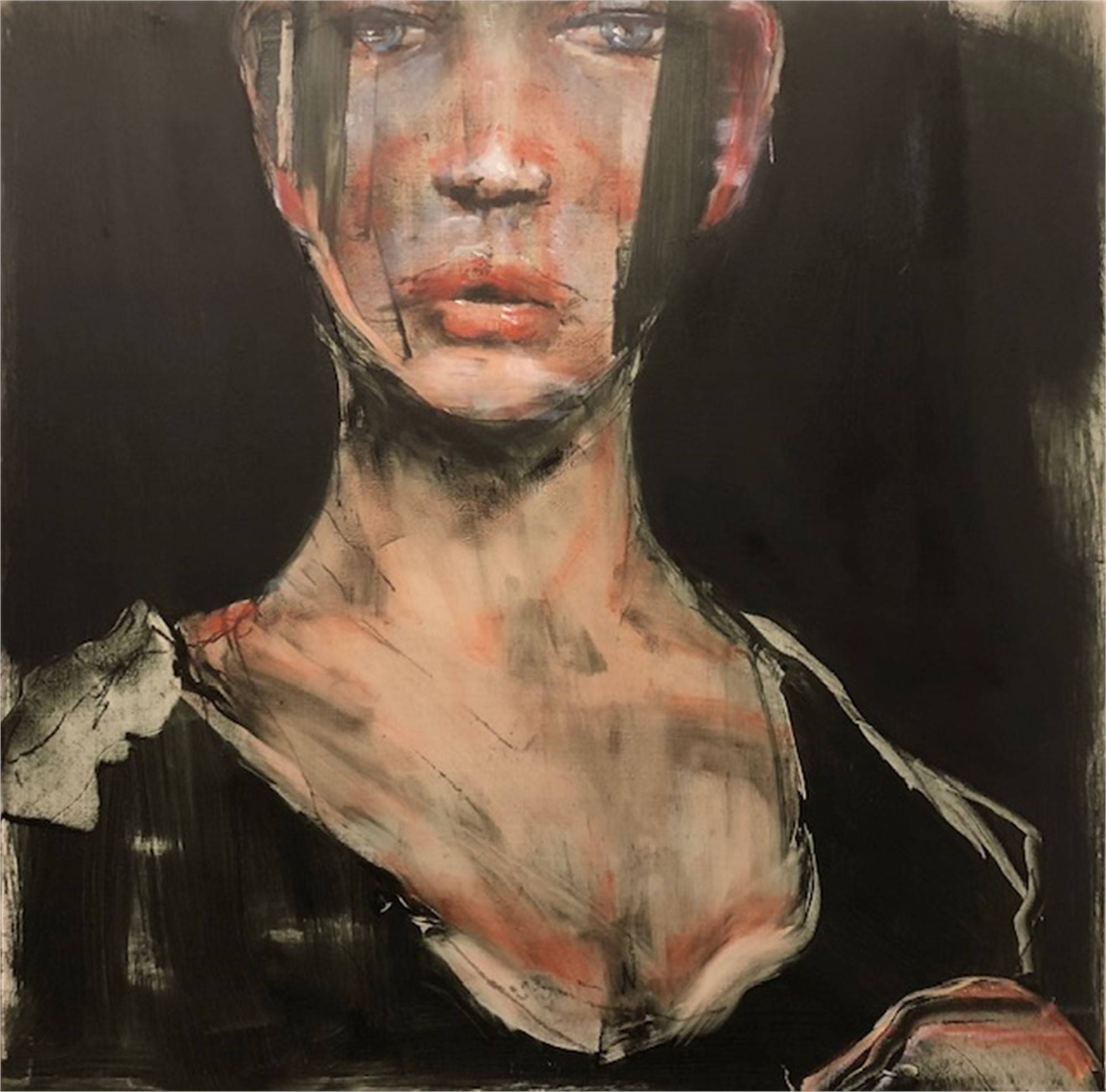 Study for Jane Doe with Unintended Hotness by Michael Dowling