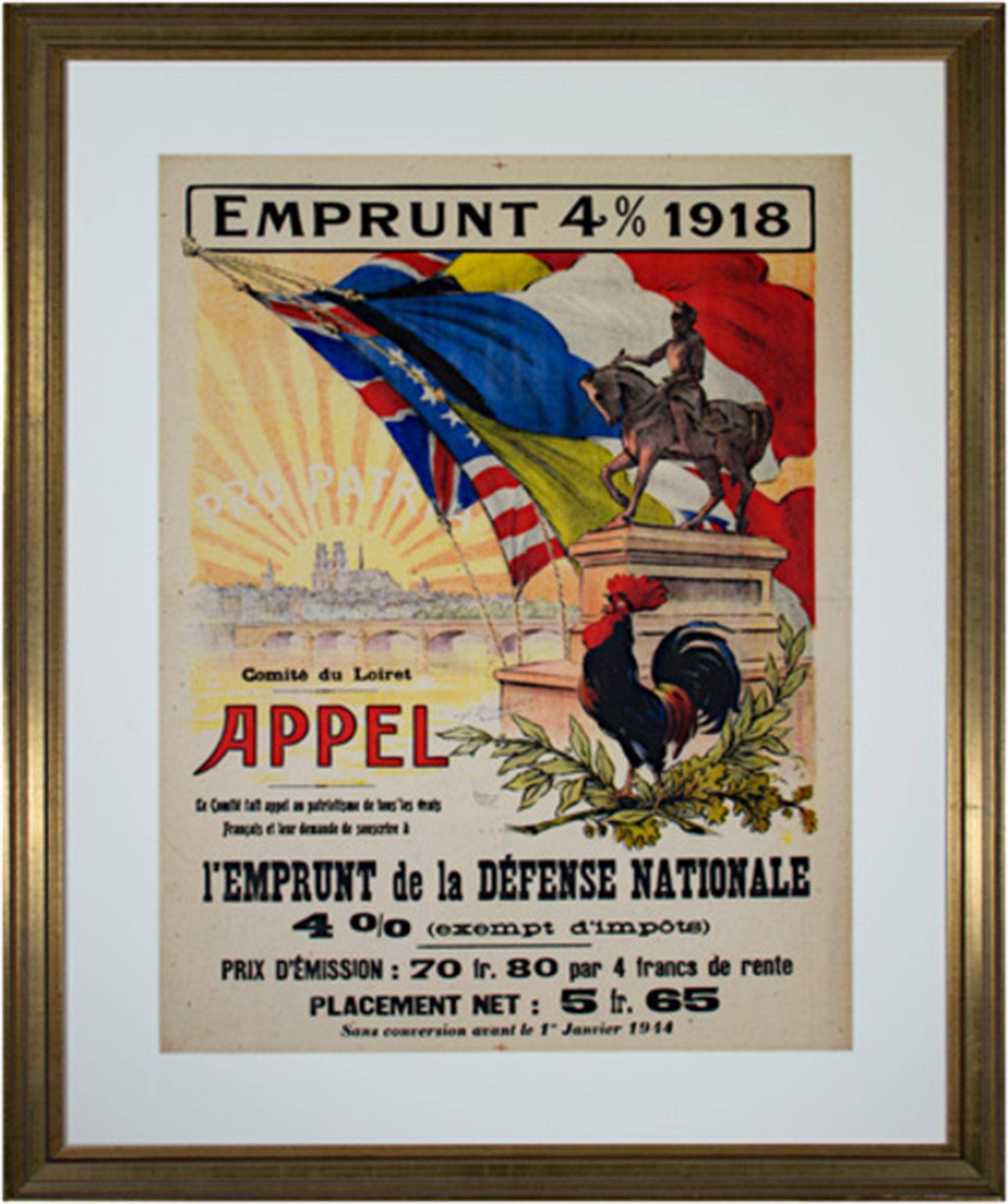 Emprunt 4% 1918-Appel by A. Malassinet