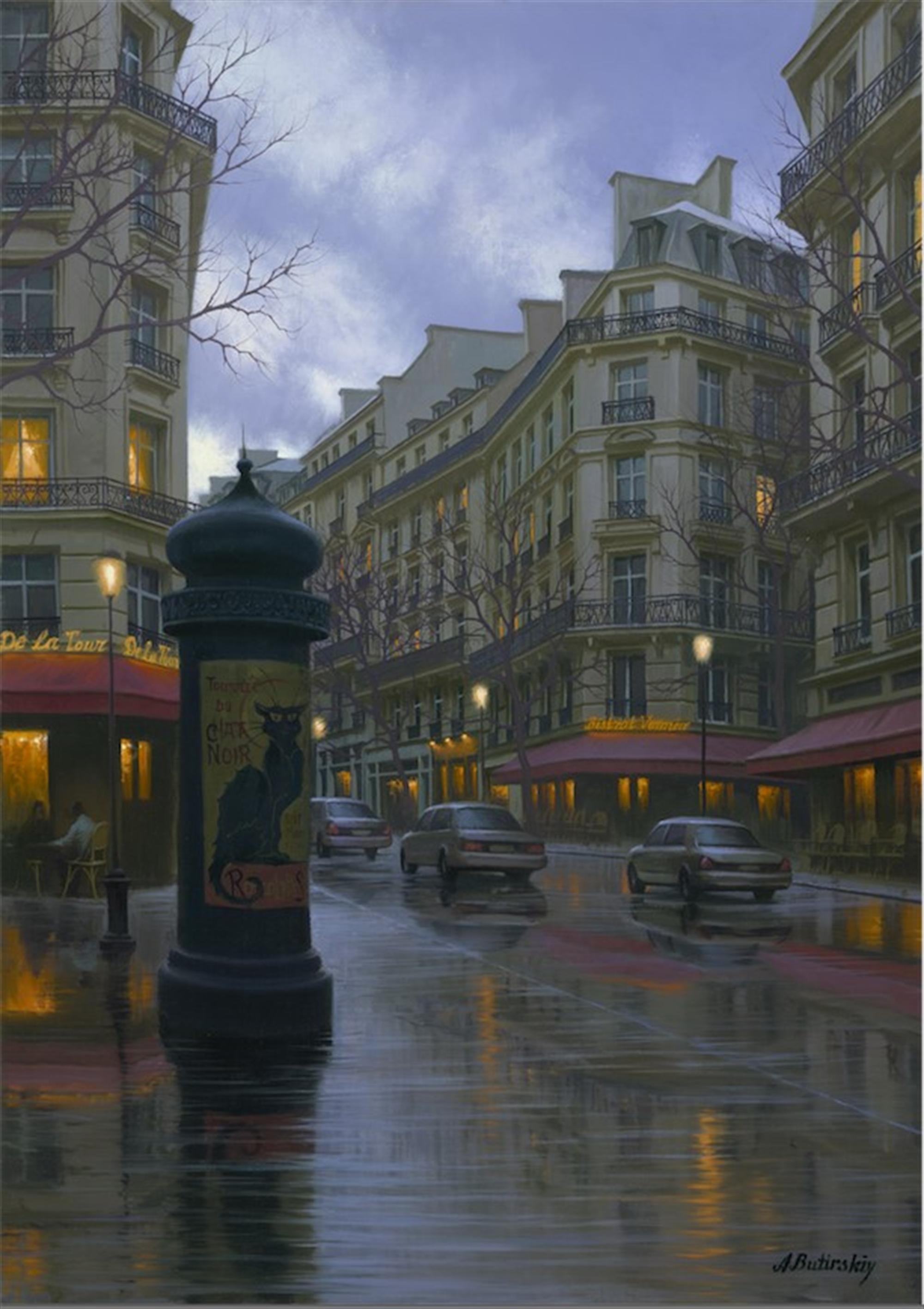 Symbol of Paris by Alexei Butirskiy