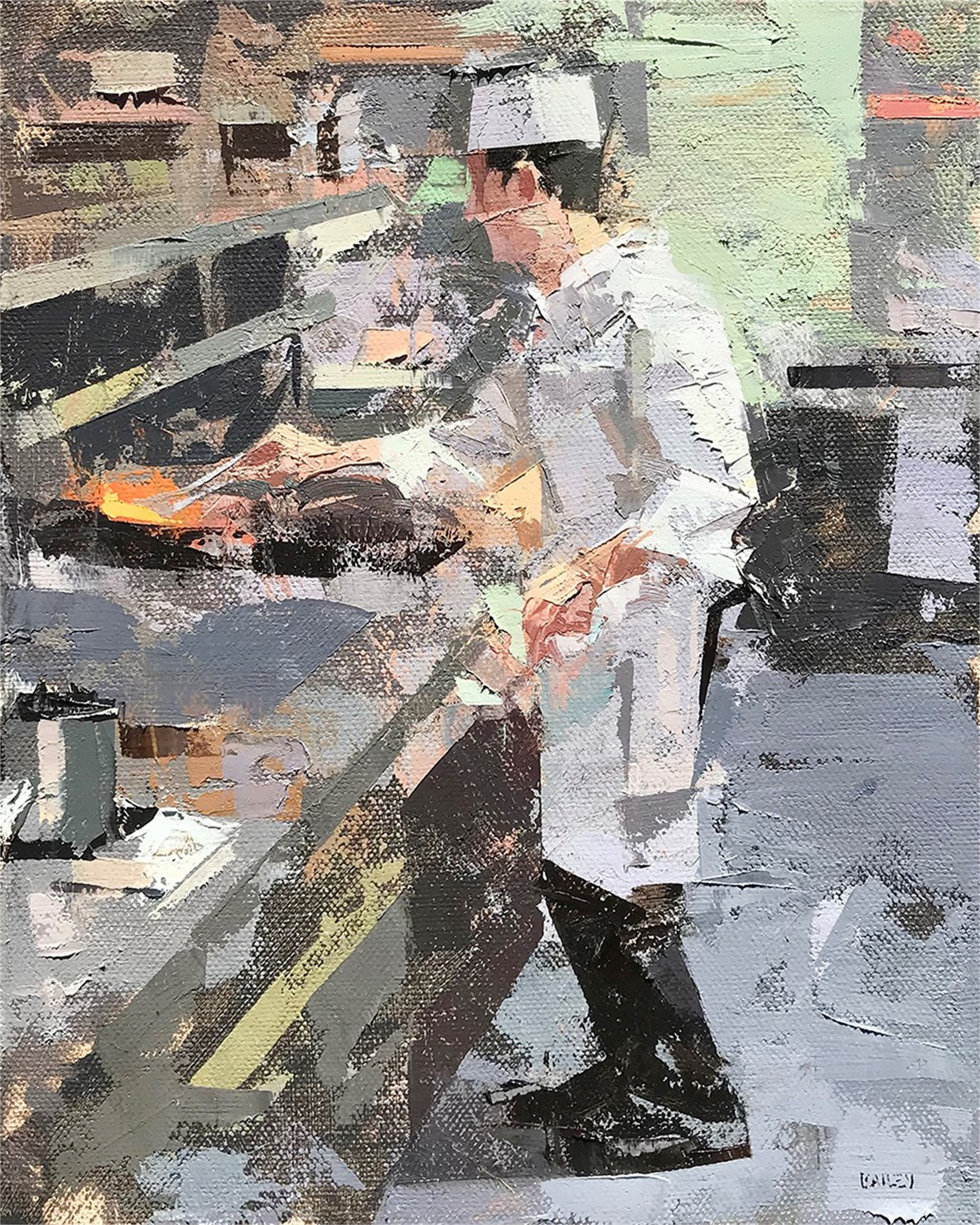 Chef II by Mark Andrew Bailey